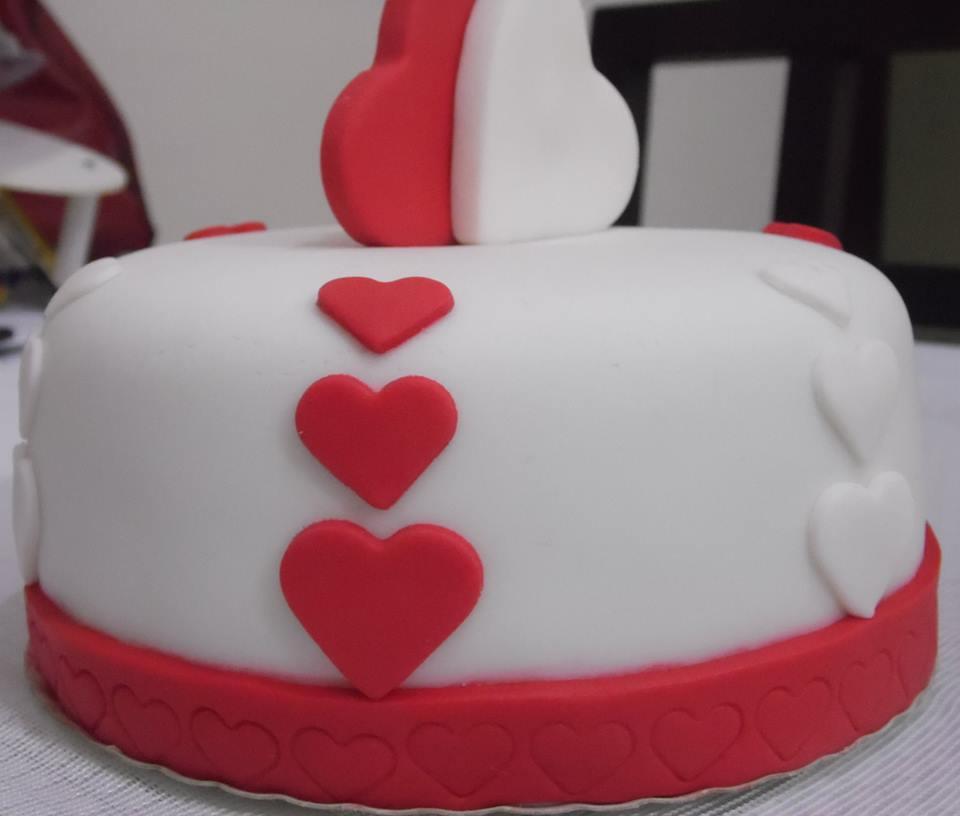 mini bolo decorado romântico mini bolo decorado romântico