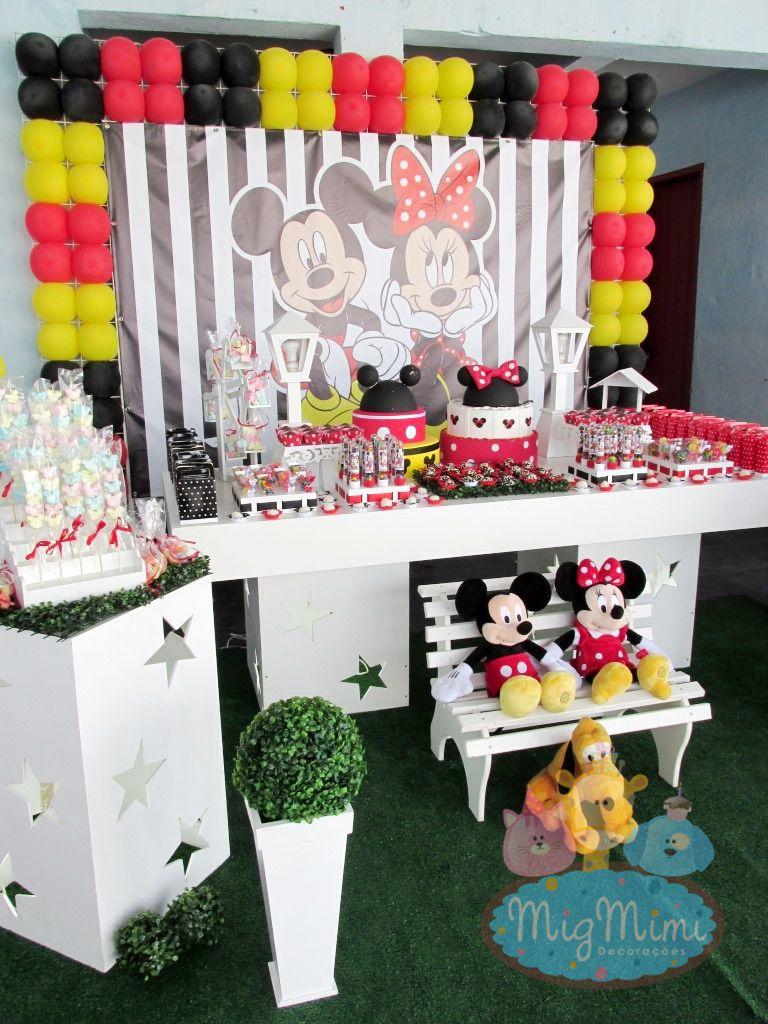 decoracao festa mickey : decoracao festa mickey:decoracao clean mickey e minnie festa mickey e minnie decoracao clean