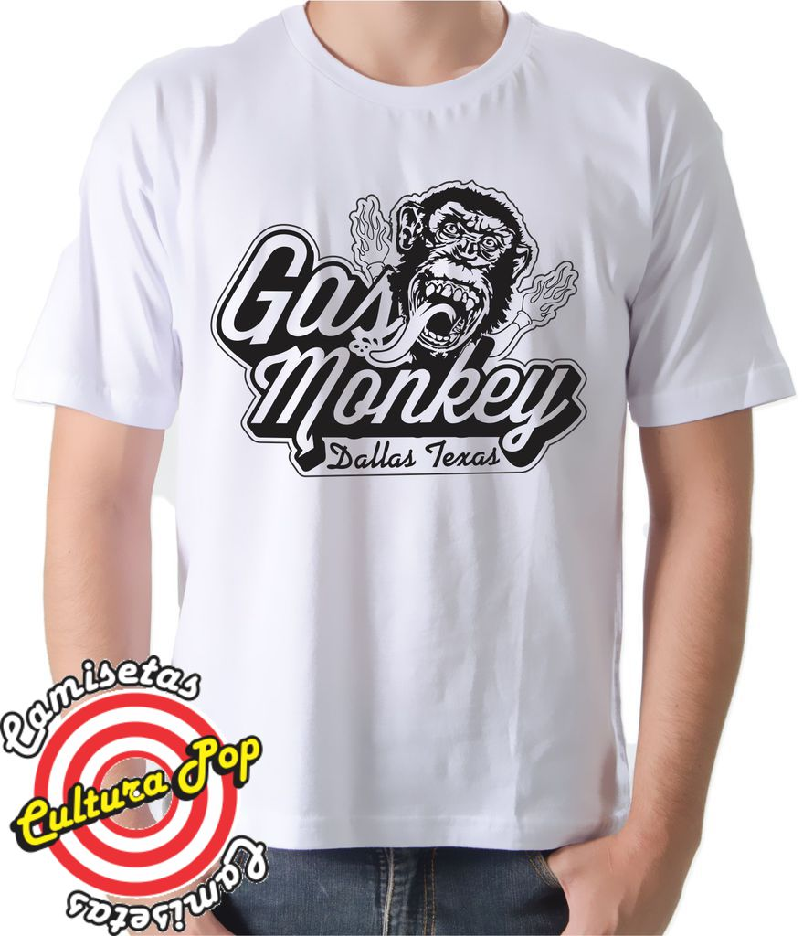 Gas monkey garage dallas texas camiseta camiseta gas monkey garage