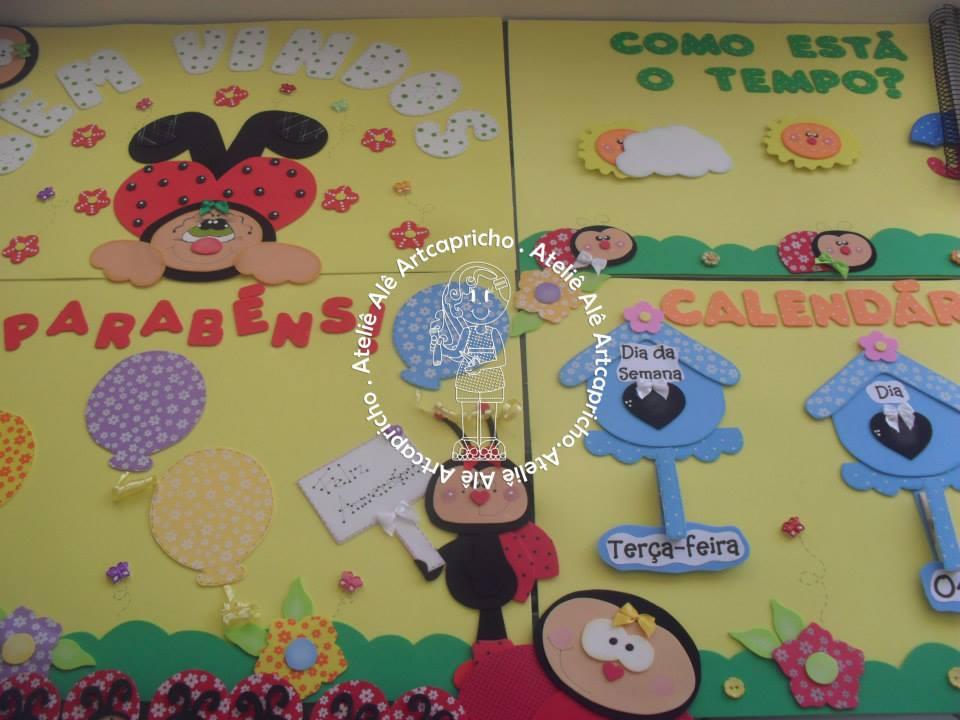 Kit Decoracao Sala De Aula ~  de aula decoracao kit sala de aula joaninhas sala de aula kit sala de