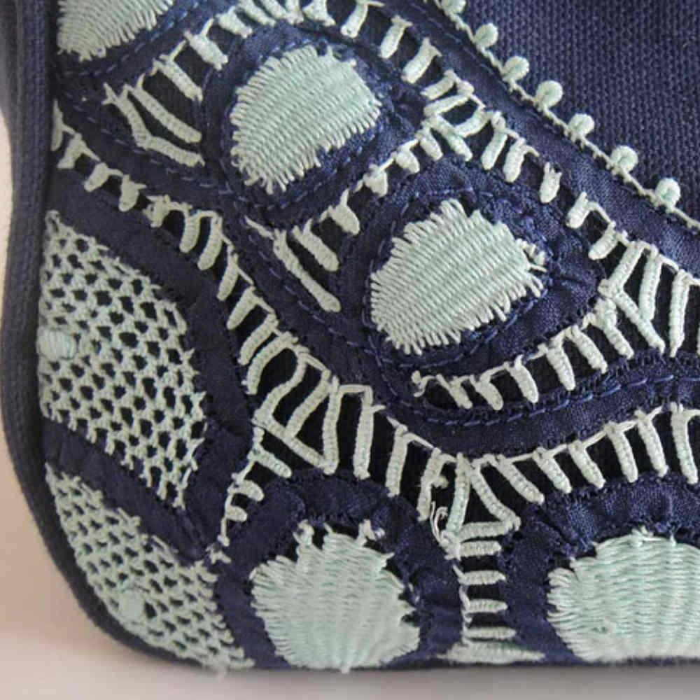 Bolsa De Tecido Com Renda : Bolsa de tecido e renda renascen?a babel das artes elo
