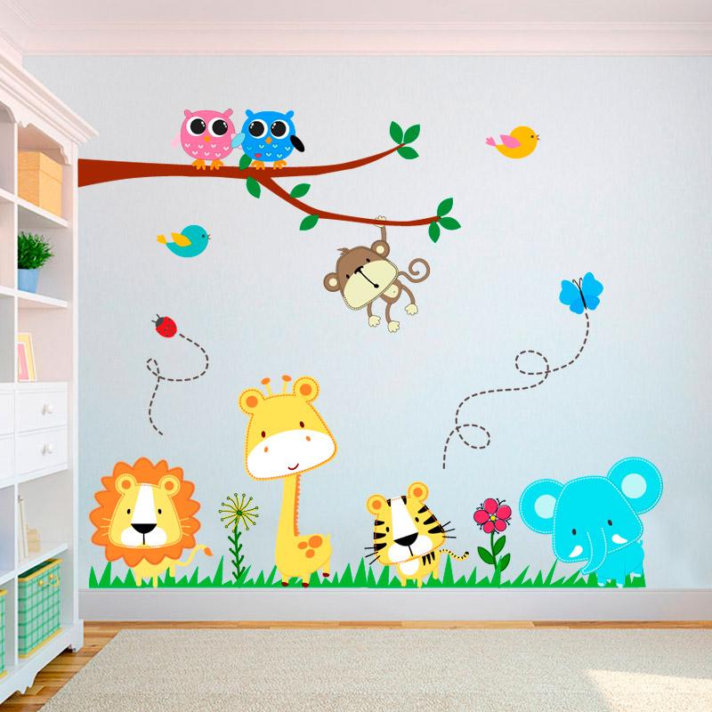 Adesivo Infantil Safari SFR18  VINIKO LOJA  El