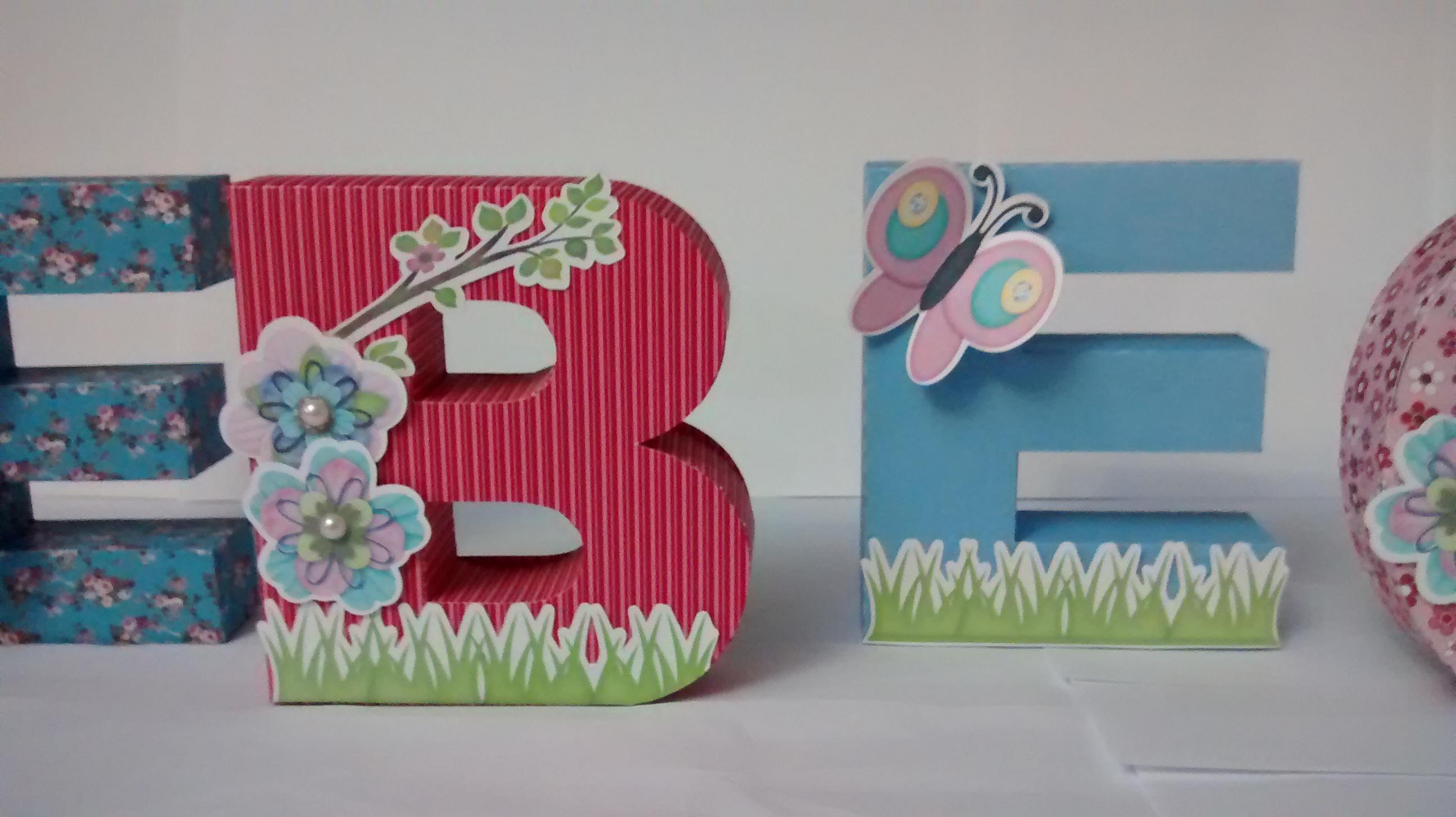 flores no jardim letra: letras 3d jardim das flores festa letras 3d jardim das flores