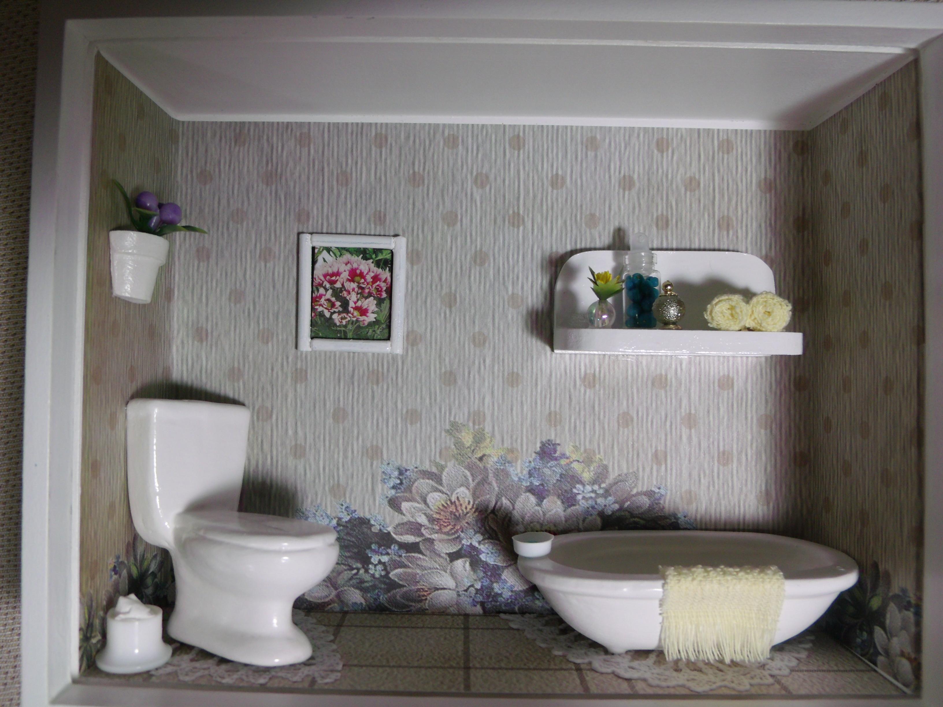 Nicho de Banheiro N 22  Elo7 -> Nicho Banheiro Mdf