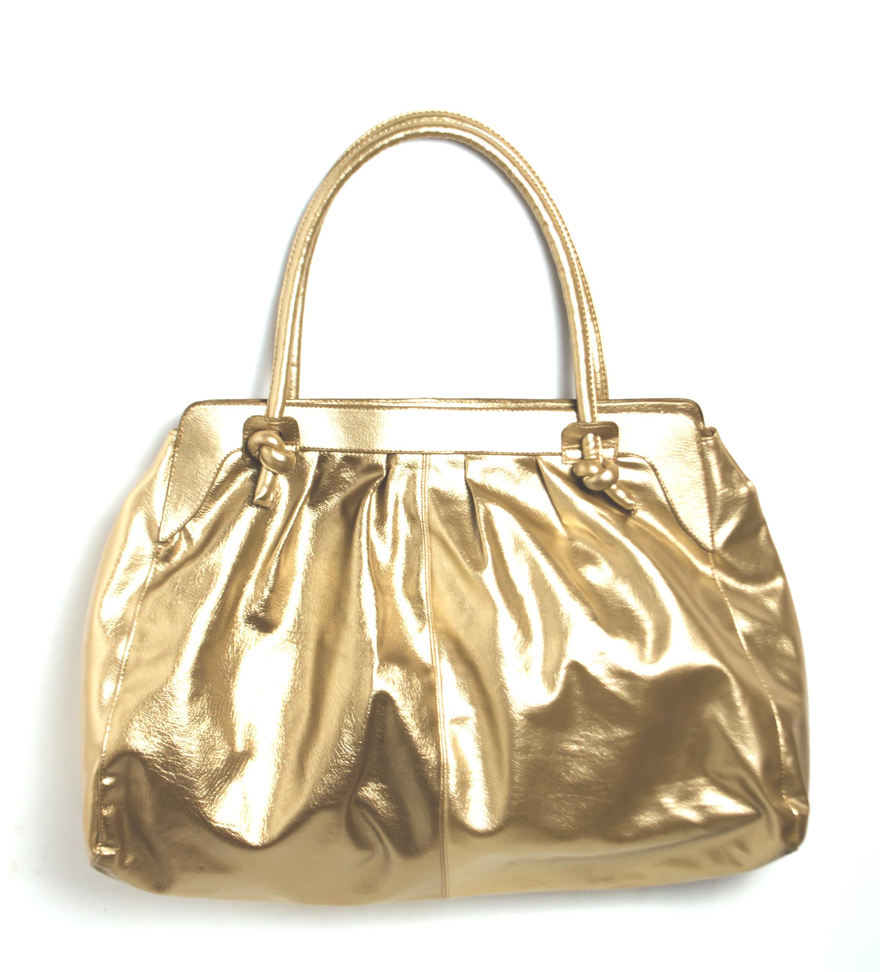 Bolsa Dourada Look : Bolsa dourada grande surreali elo