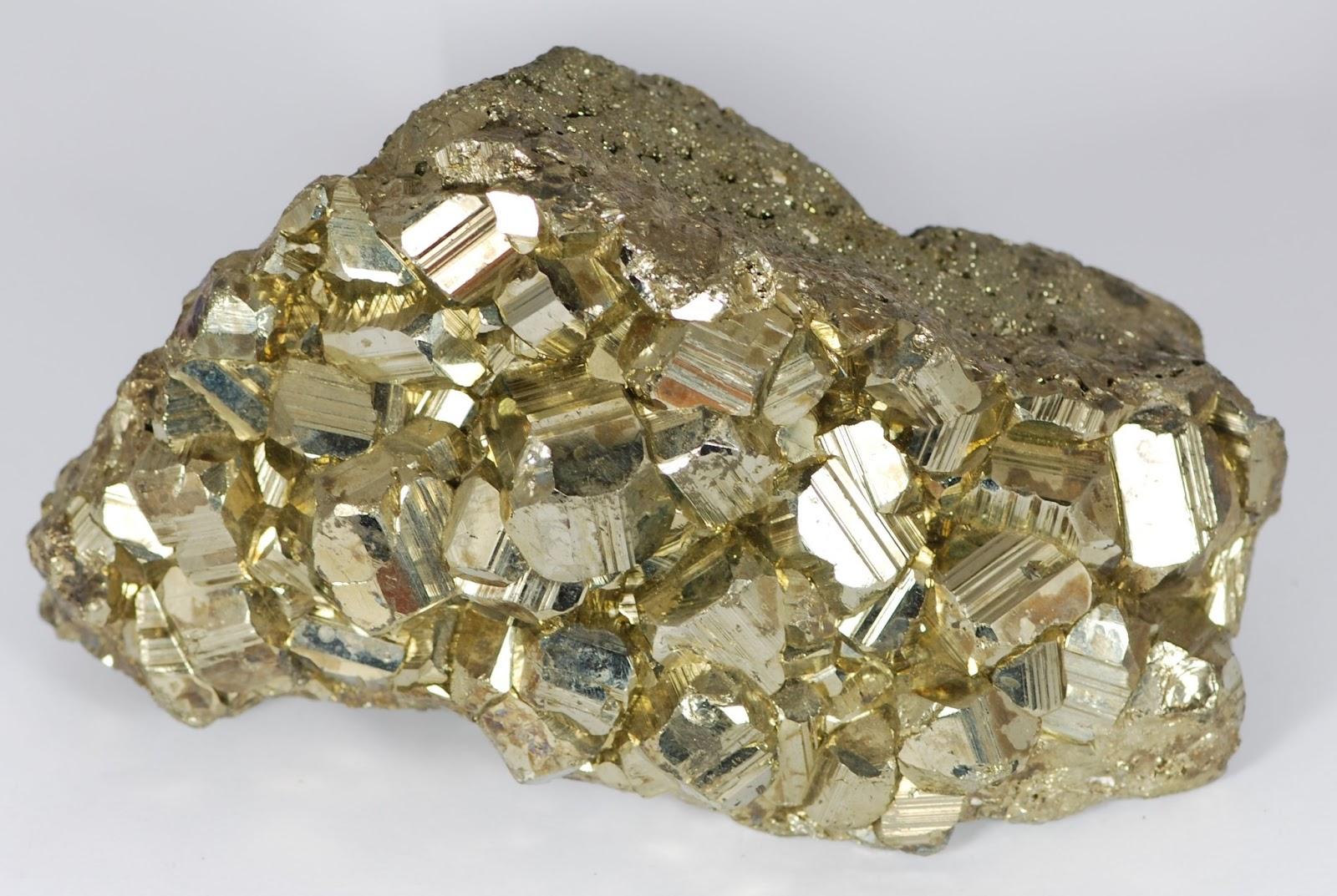 Resultado de imagem para pirite mineral