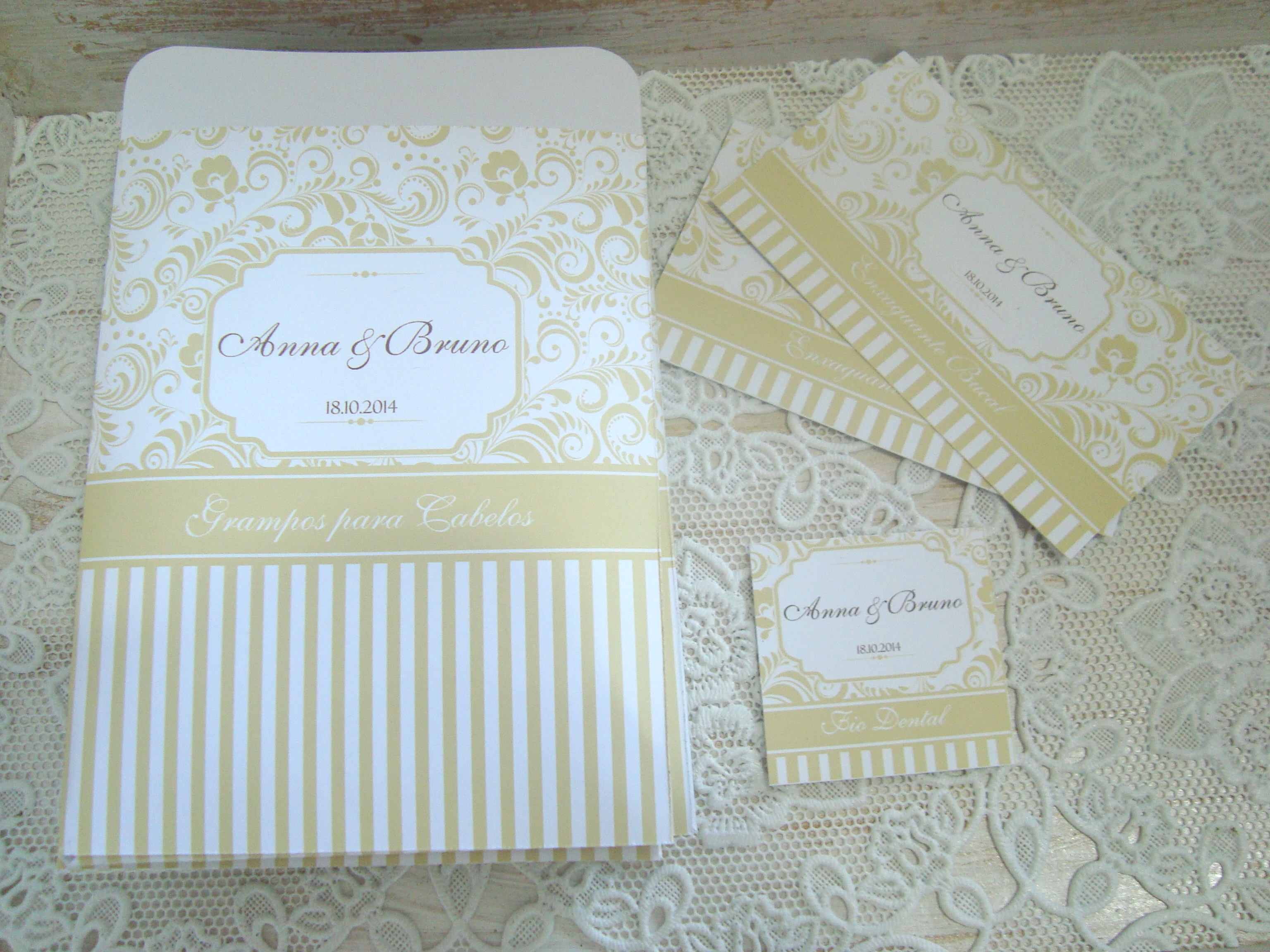 Rótulos para kit banheiro casamento : R?tulos kit toalete dourado papelaria personalizada tudo
