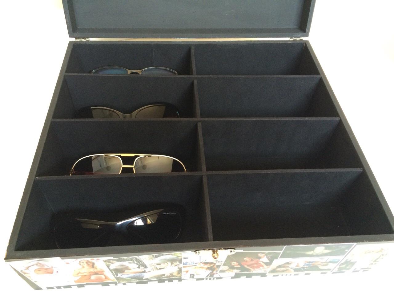 Caixa personalizada porta culos ericartes elo7 for Porta oculos