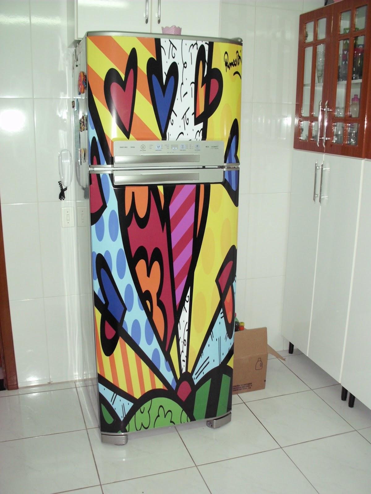 Artesanato Em Sorocaba ~ Adesivo para geladeira(envelopamento) Inove Adesivos Elo7
