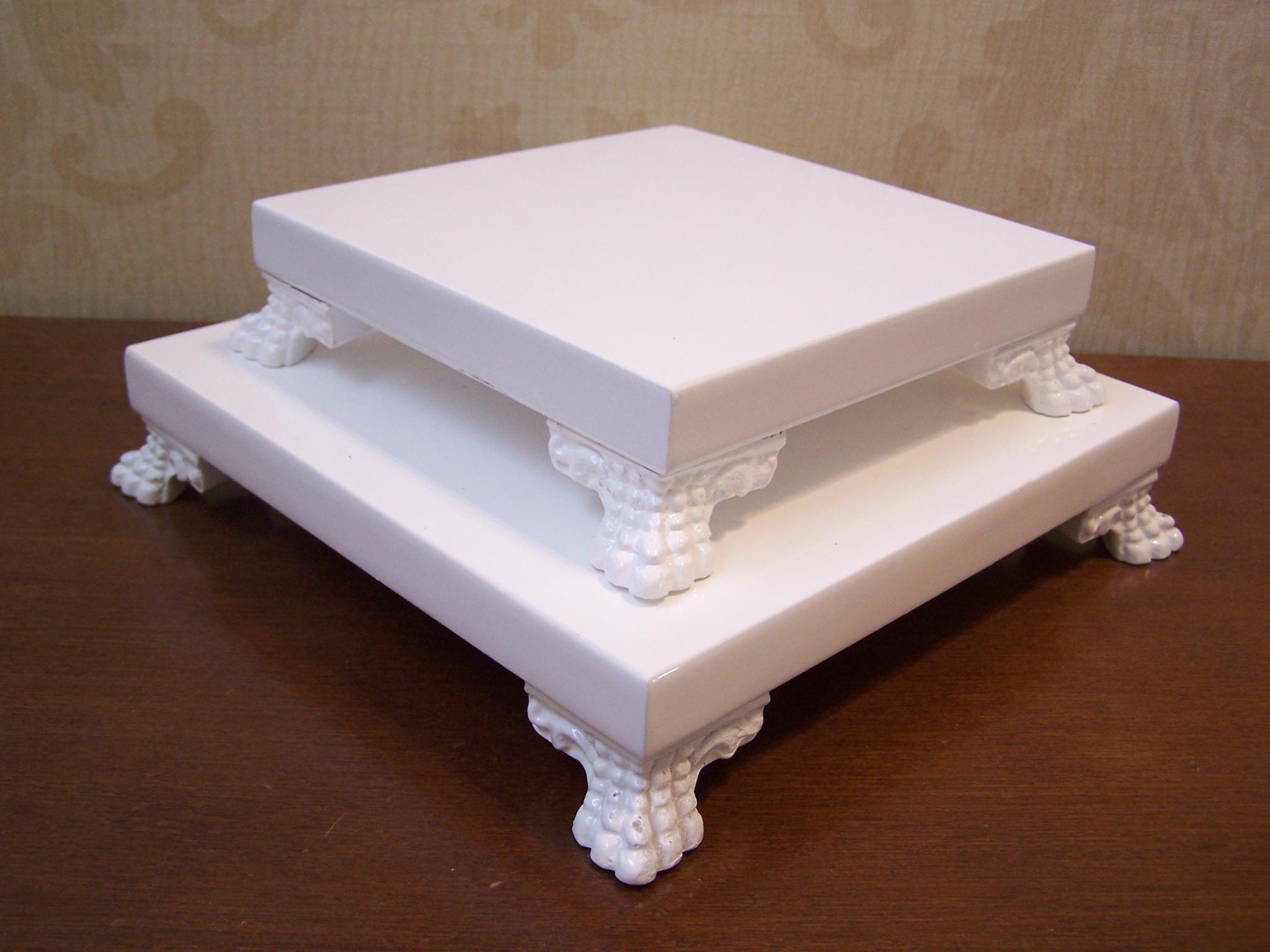 suporte para doces duas pecas base para decoracao mesa festa #5A311D 2048x1536