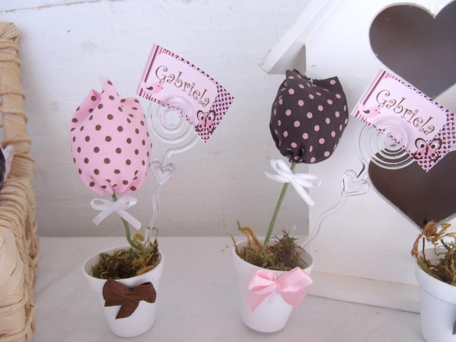 Lembrancinhas tulipas com porta recado artes d da e l - Black friday porta di roma ...