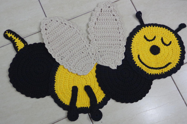 Arte Brasil Tapete De Croche Em Tiras : Pin Tapete De Bichinho Em Croch? Para Quarto Infantil Modelos