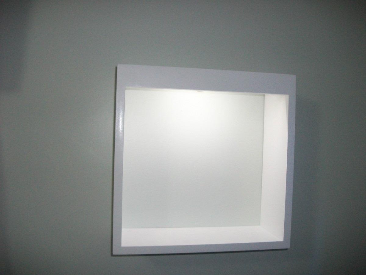 redondo com luz de led nicho com luz de led nicho com luz de led #4C5357 1200 900