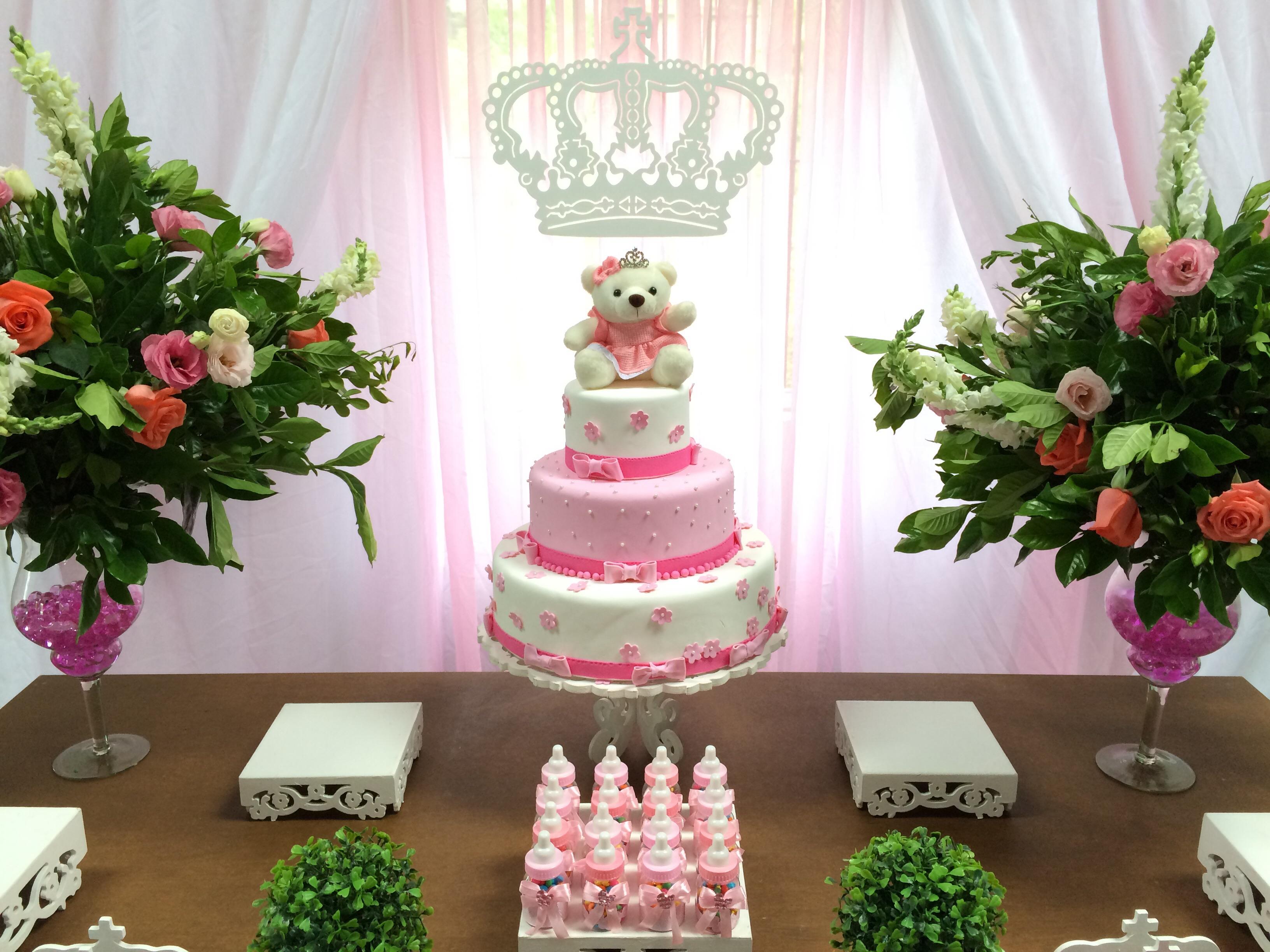 Princesa Realeza Clean Rústica Winie Festas Decorações Elo7 -> Decoração De Festa Infantil Realeza
