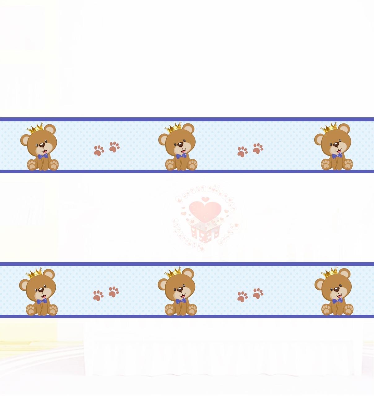 Adesivo De Parede Ursinho Principe ~ 20170211163111 Faixa De Ursinho Para Quarto De Bebe u2013 Beigit com