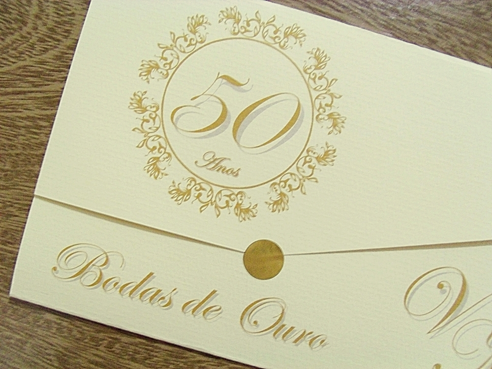 Quero Montar Meu Convite De 50 Anos: PAPELAC PAPELARIA - CONVITES
