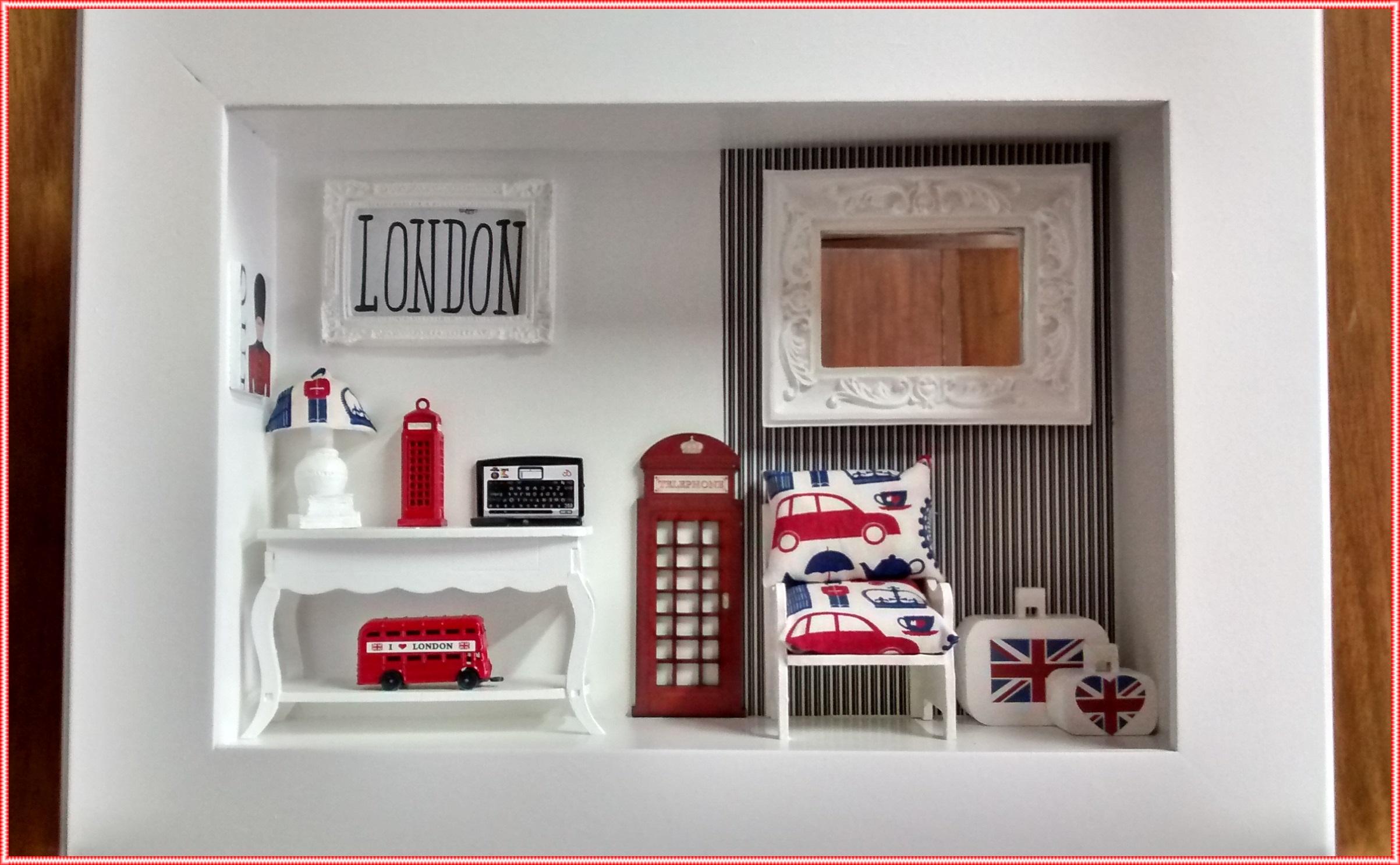 Quadro Cenário Loja Infantil - LONDON | Atelier by Dreams | Elo7