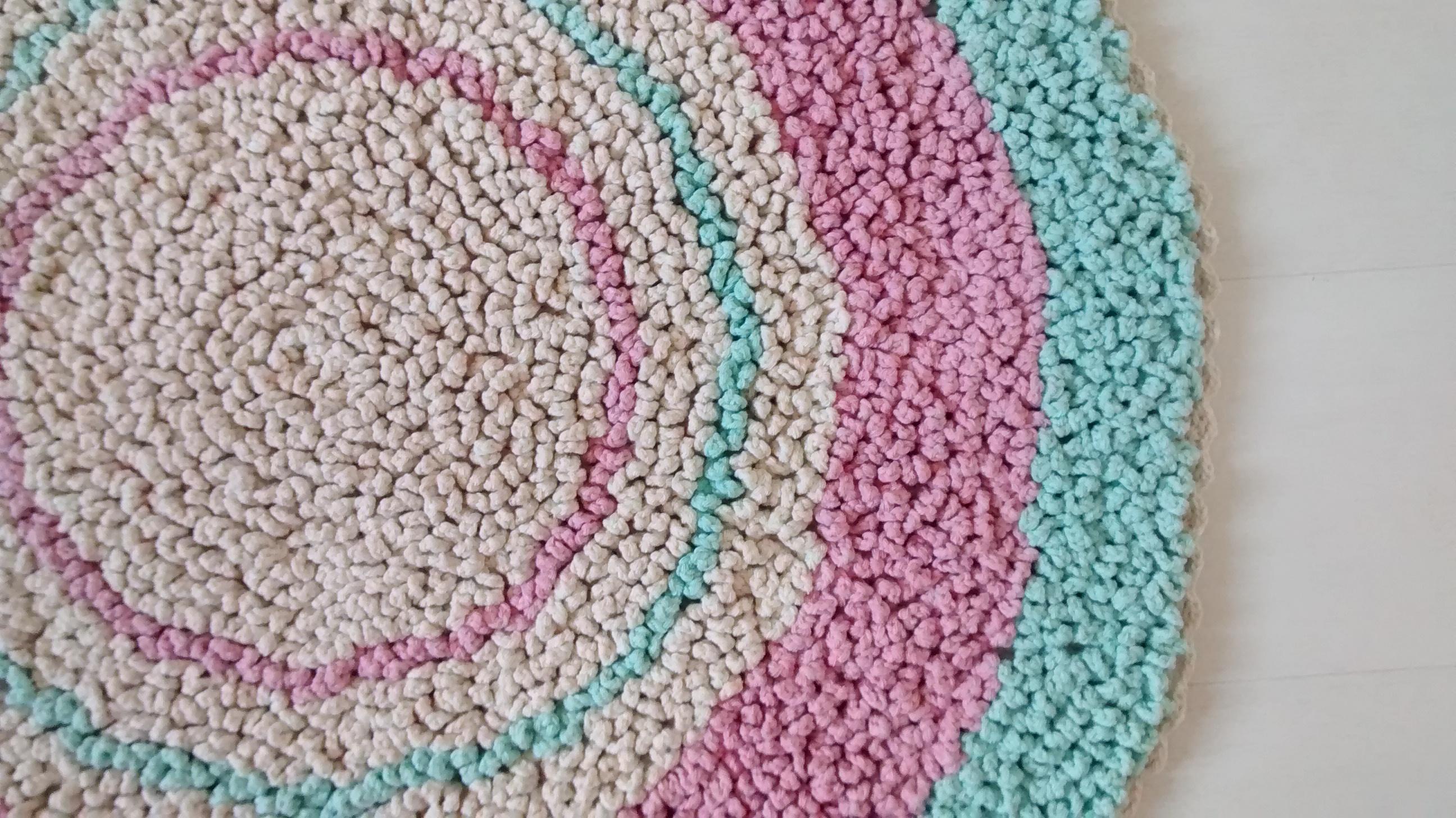 Tapete Fofinho Rosa e Verde Água Criativo e Caprichado  ~ Quarto Verde Limao E Rosa