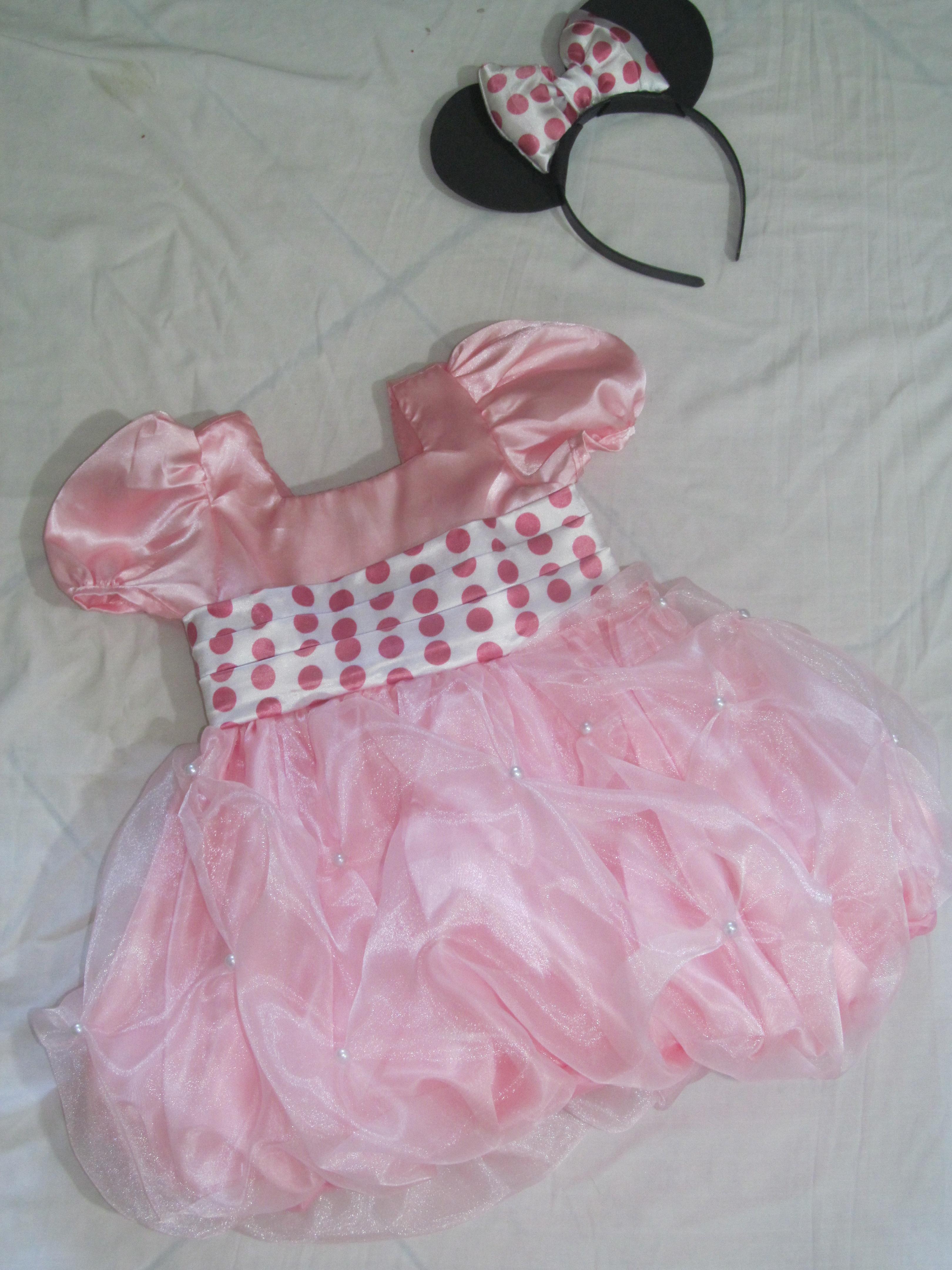 ... mae-e-filha-da-minnie-rosa-festa vestido-mae-e-filha-da-minnie-rosa
