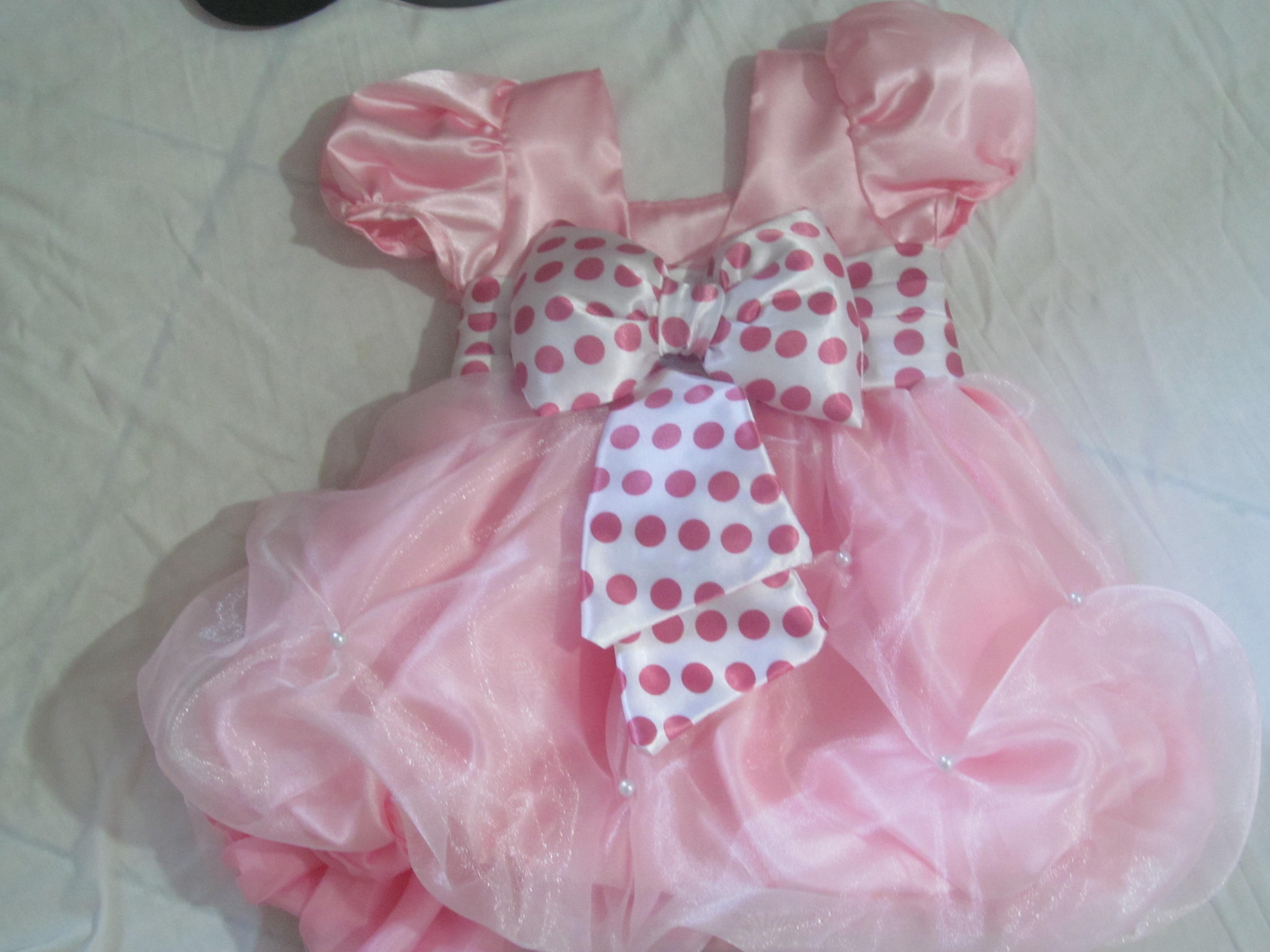 rosa mae e filha vestido mae e filha da minnie rosa festa vestido mae ...