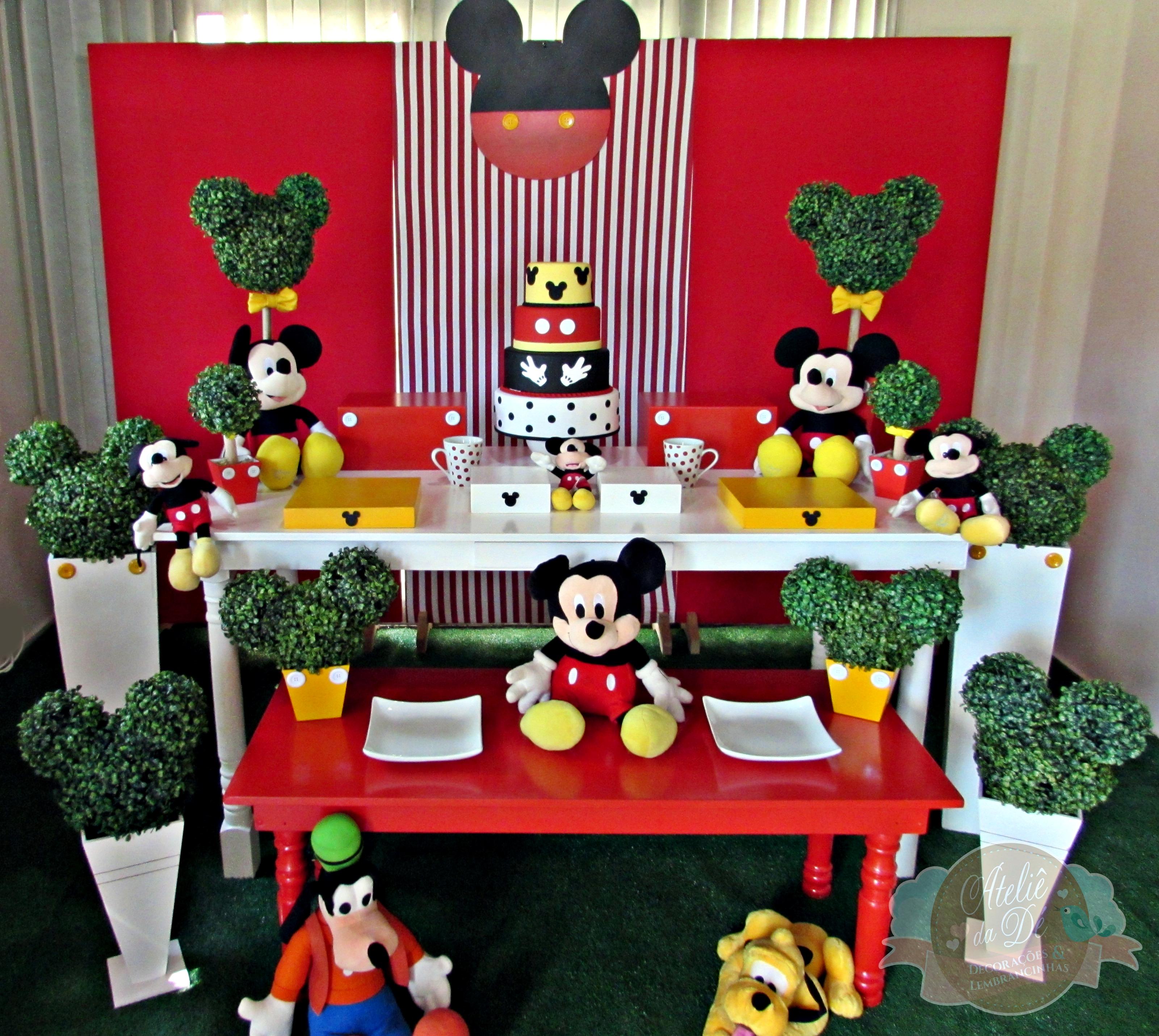 Aluguel de decora o mickey atelier da d elo7 for Decoracion e