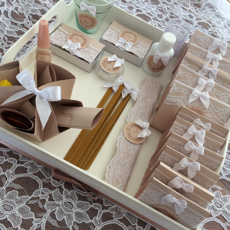 Kit Banheiro Casamento Rustico : Kit banheiro papel raro elo