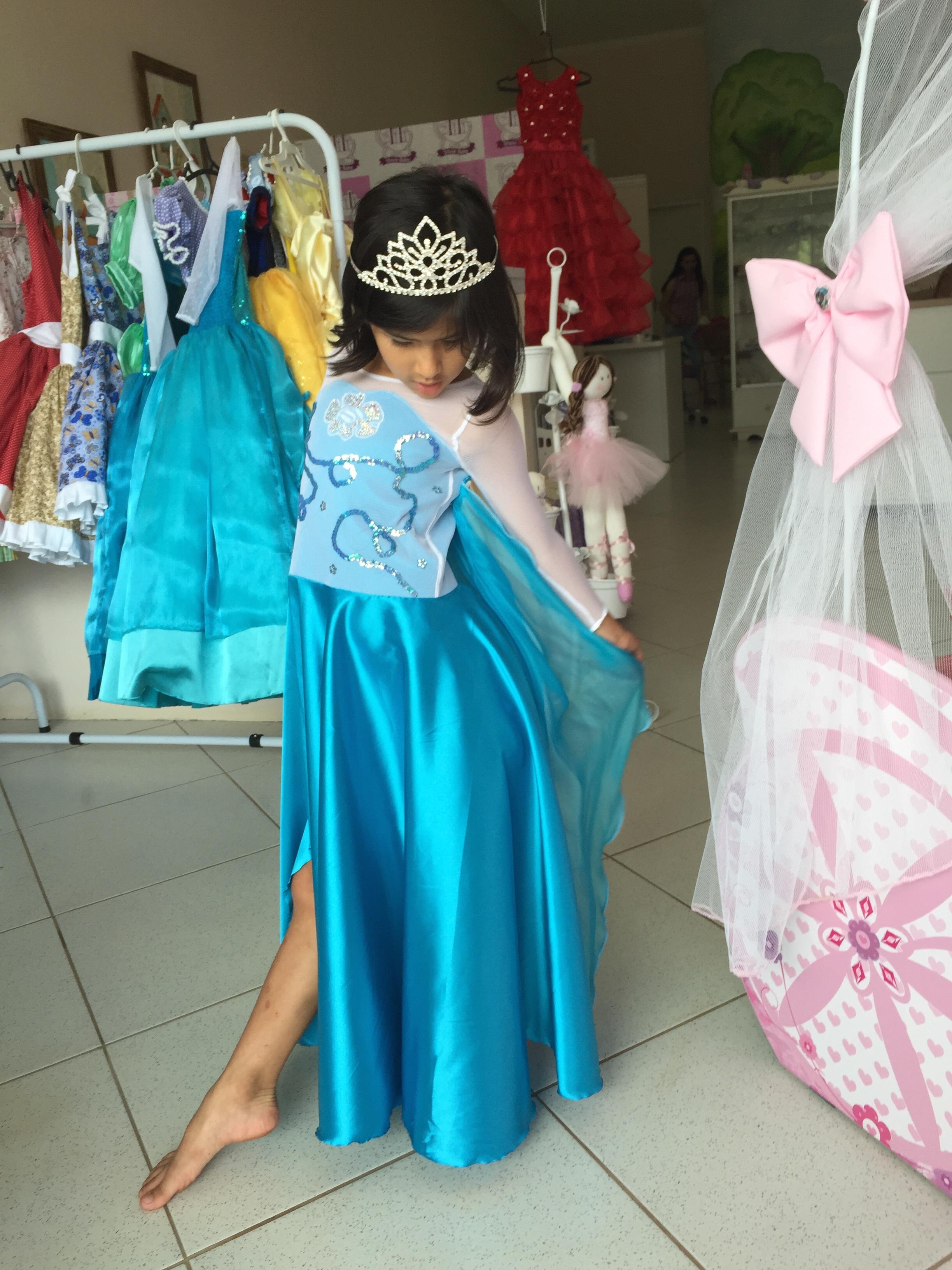 Fantasia Frozen Rainha Elza Dalili Store Baby Elo7