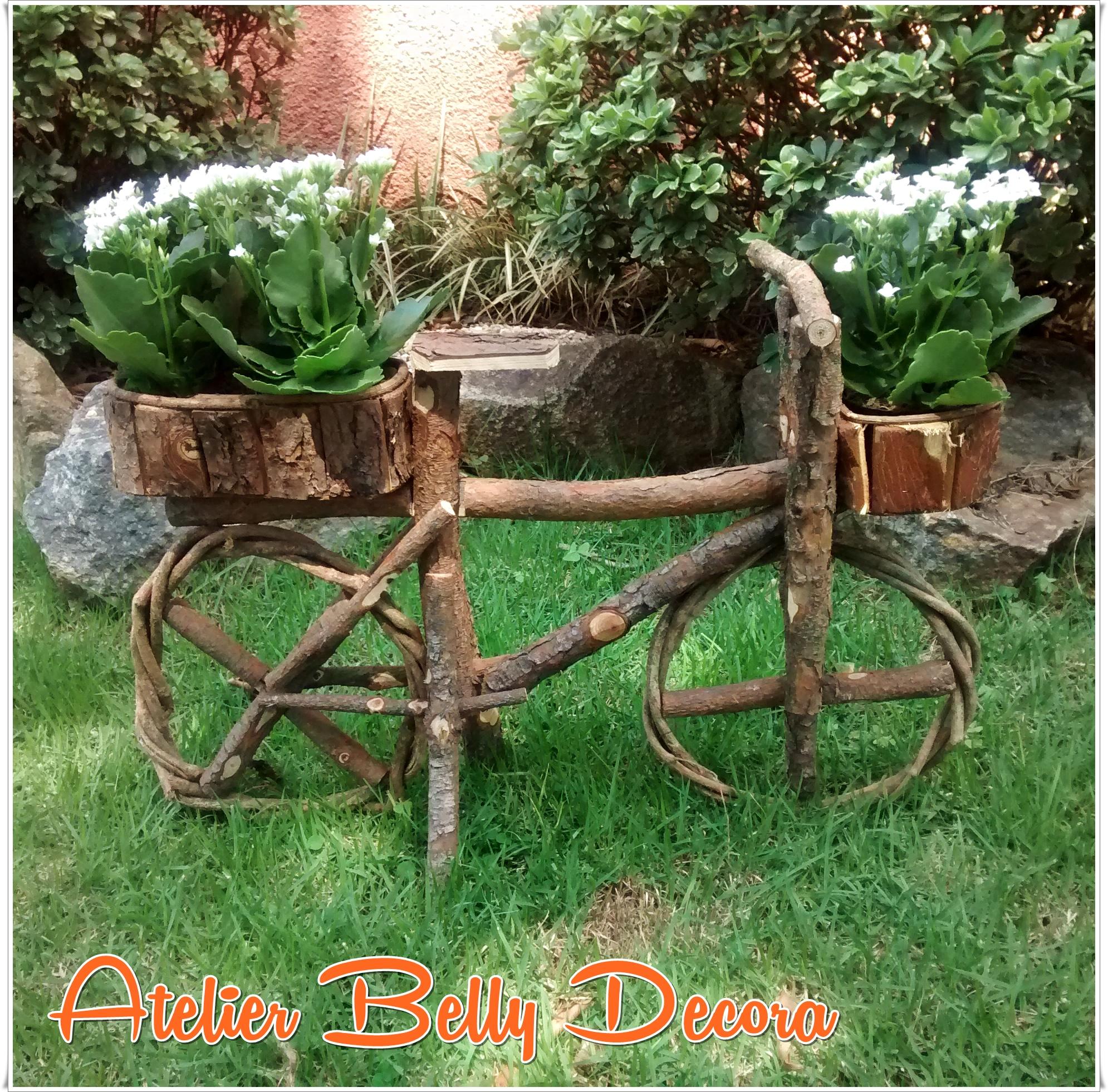cipo jardim enfeite bicicleta c cachepo madeira cipo jardim decoracao  #CA4201 1990x1962