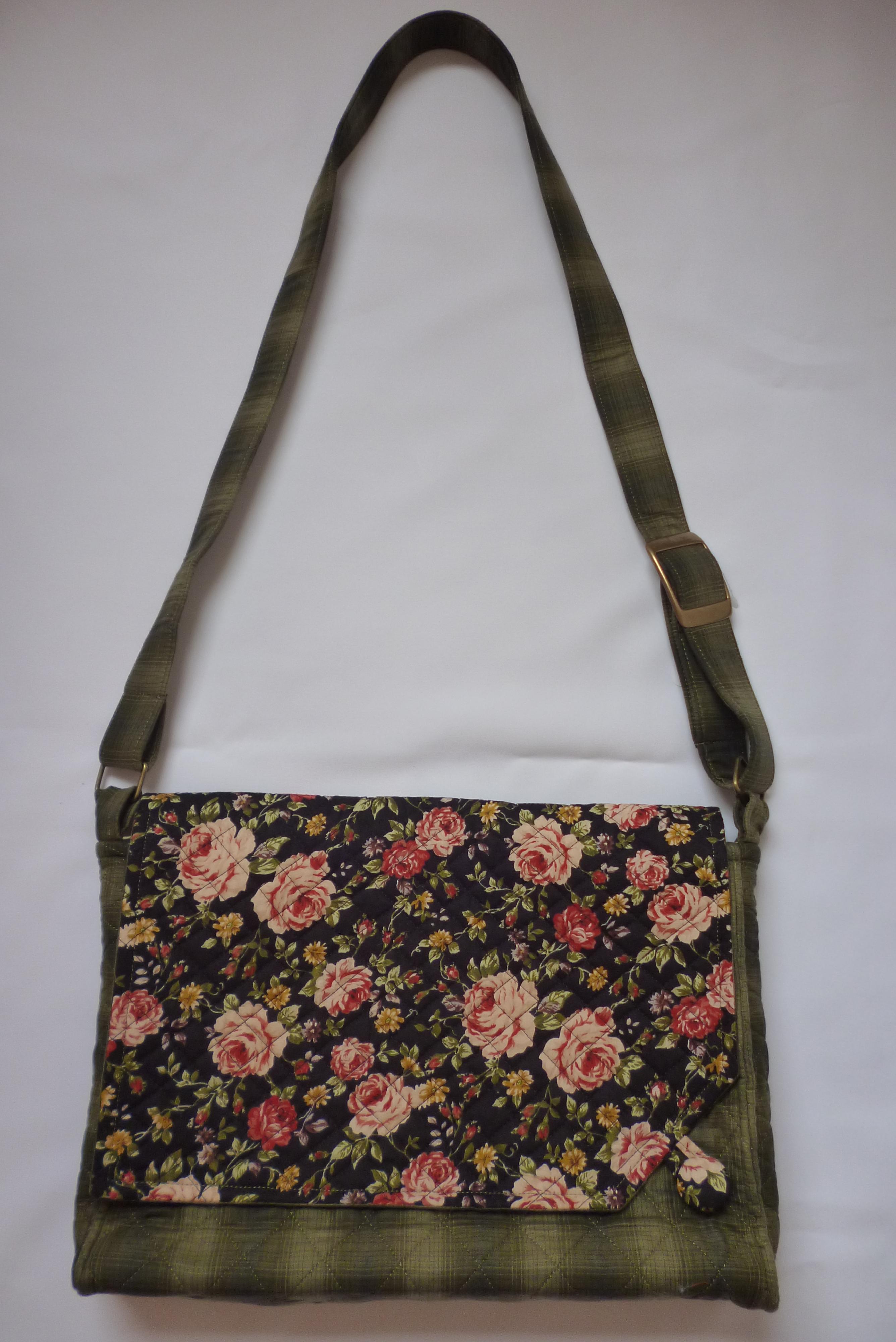 Bolsa Em Tecido Moldes : Projeto bolsa carteiro patchwork by deise muller elo