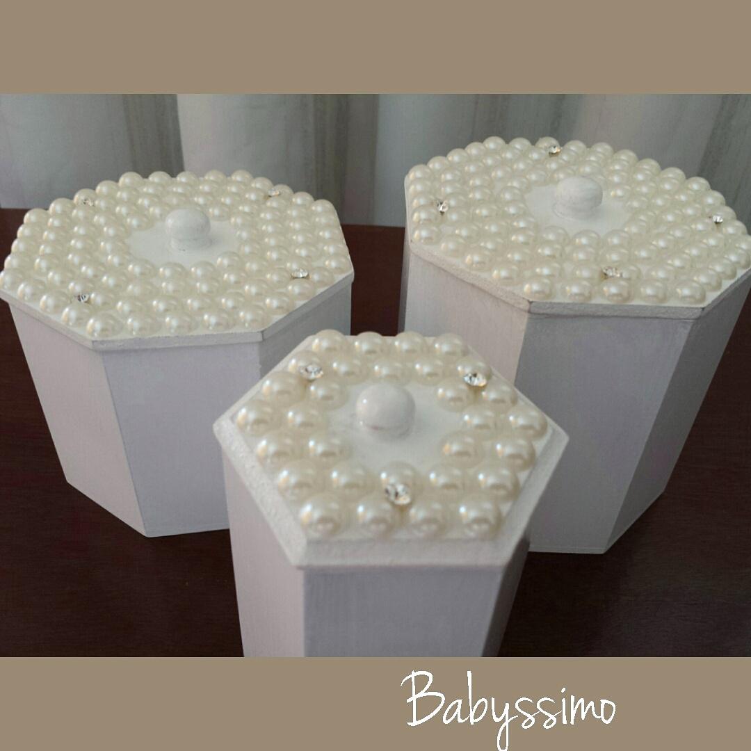 Kit decoração em pérolas Babyssimo Elo7 #2C1E1A 1080x1080