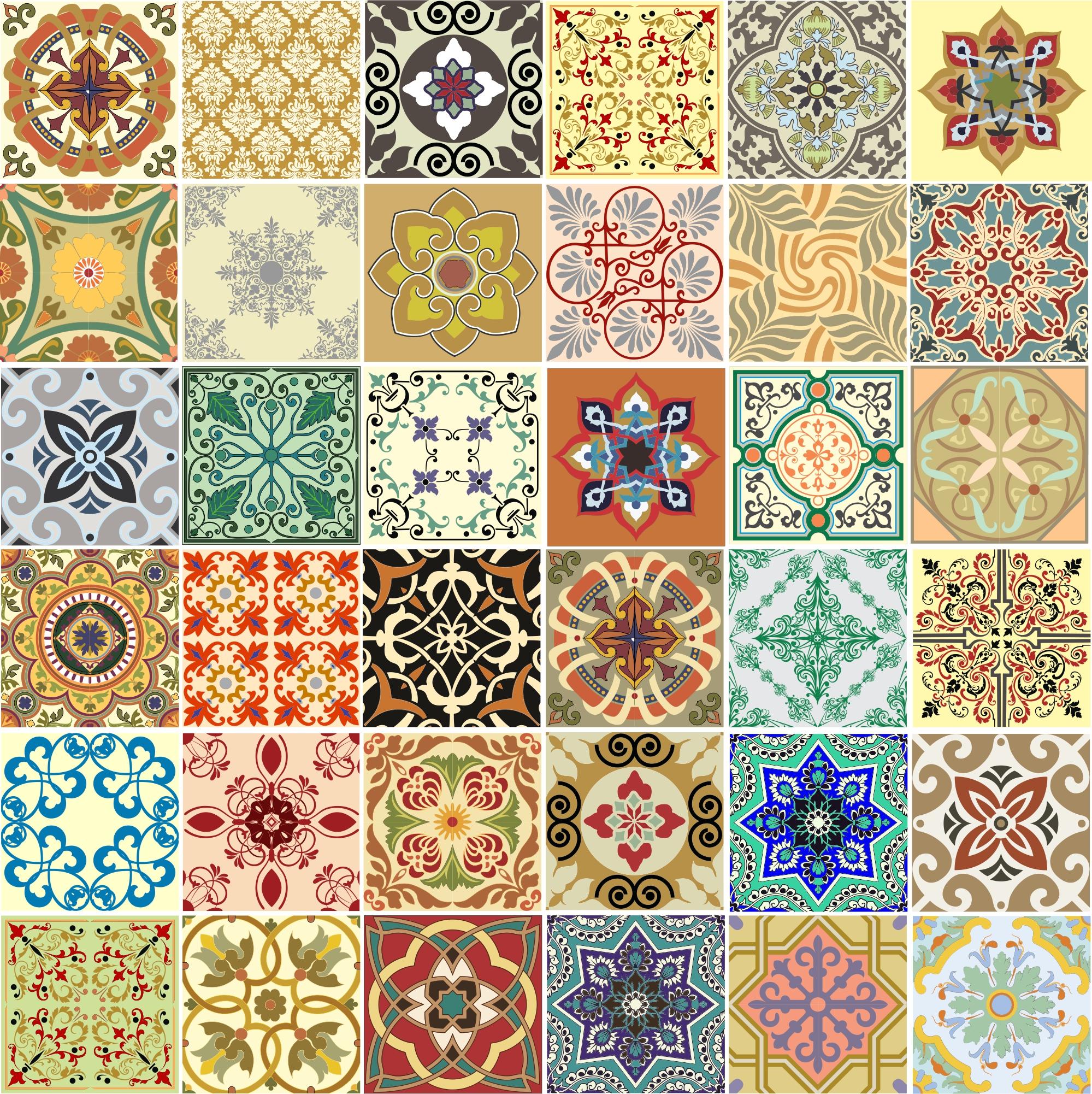 azulejos ladrilho portugues 3 unidades adesivo azulejos #A83223 1999x2002 Banheiro Com Azulejo Antigo