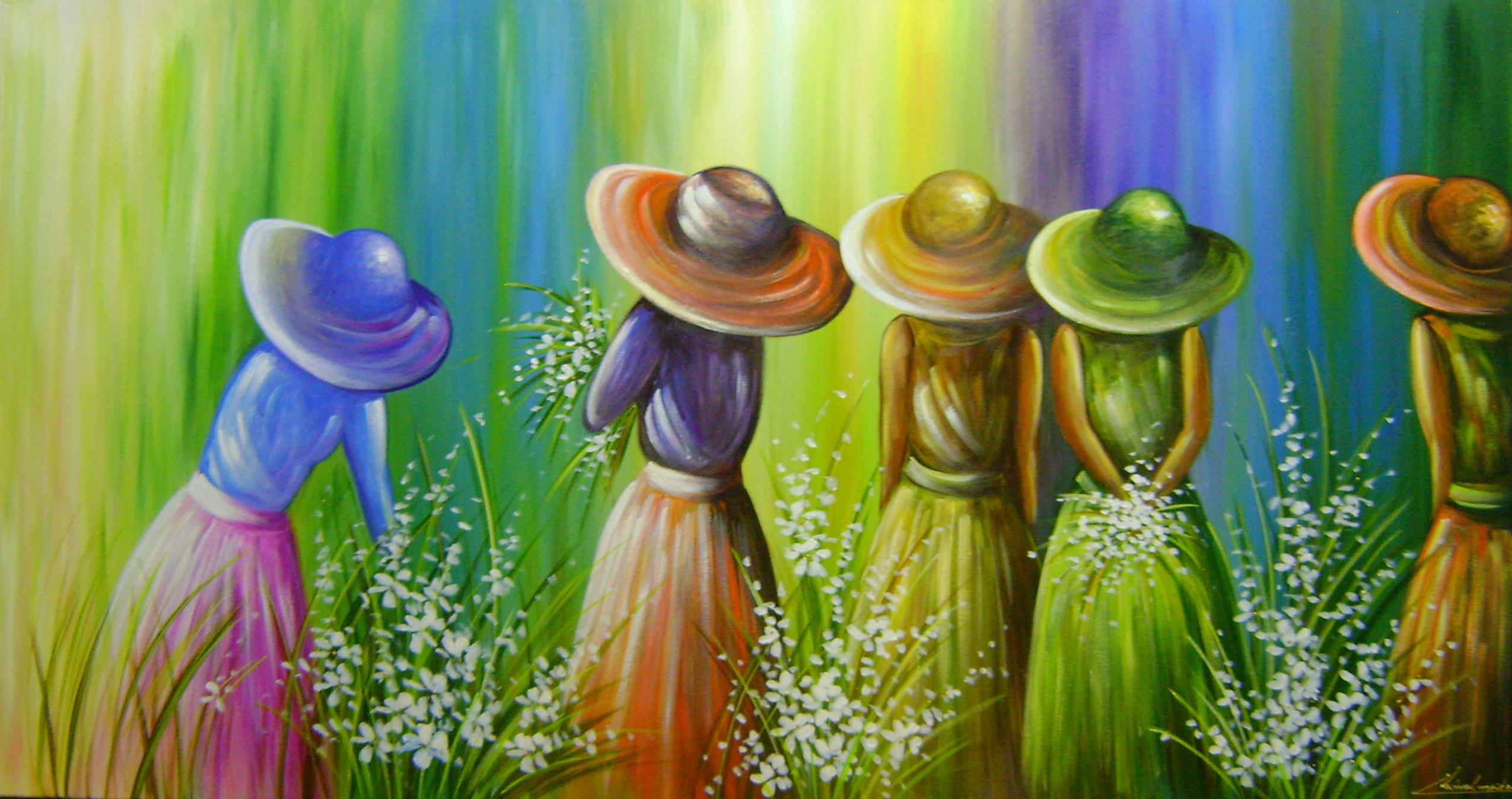 Pintura em tela cod 837 katia almeida pinturas - Pinturas para pintar tela ...