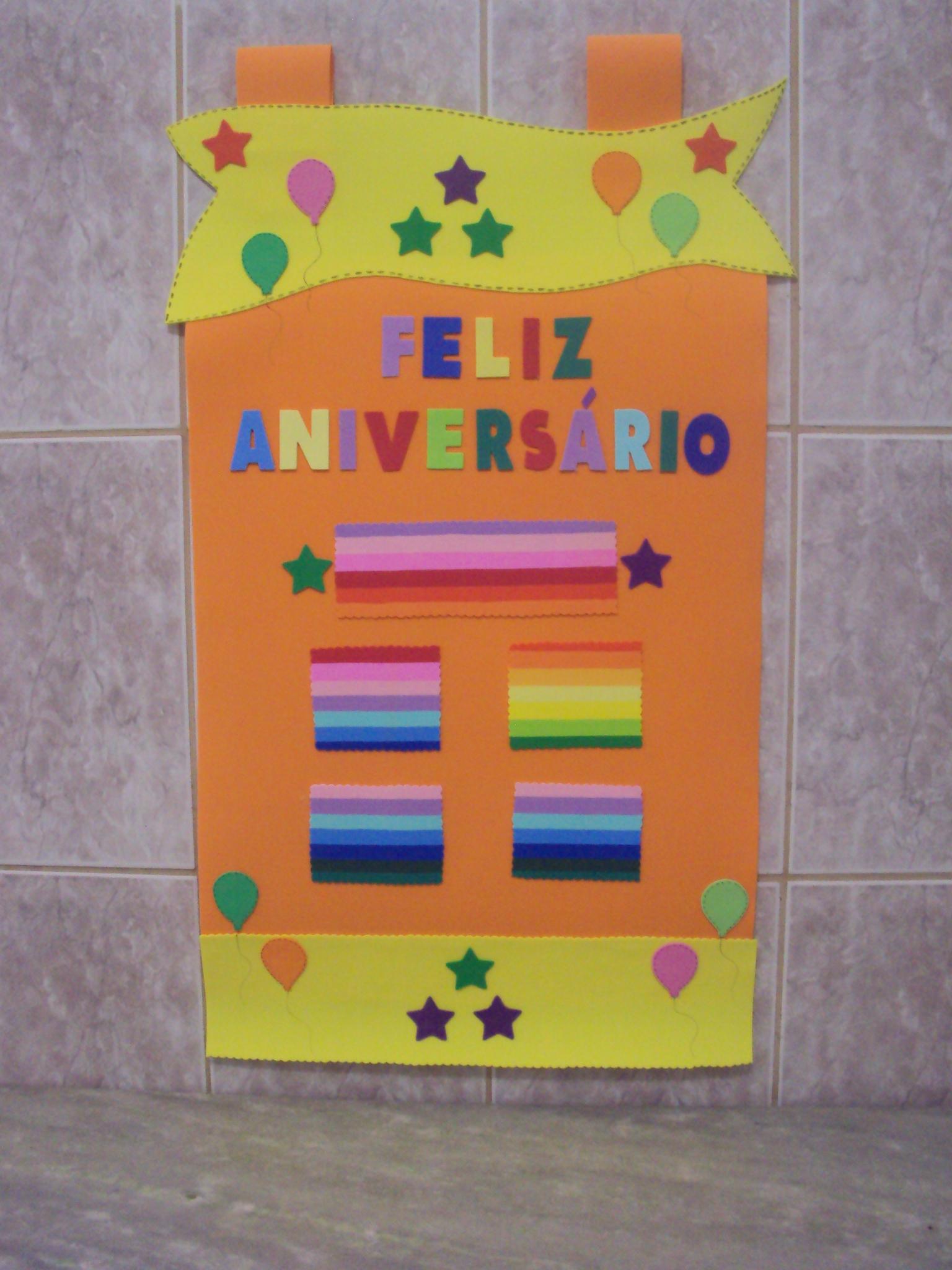 Cartaz painel anivers rio parab ns eva manias e artes elo7 for Mural de fotos 1 ano