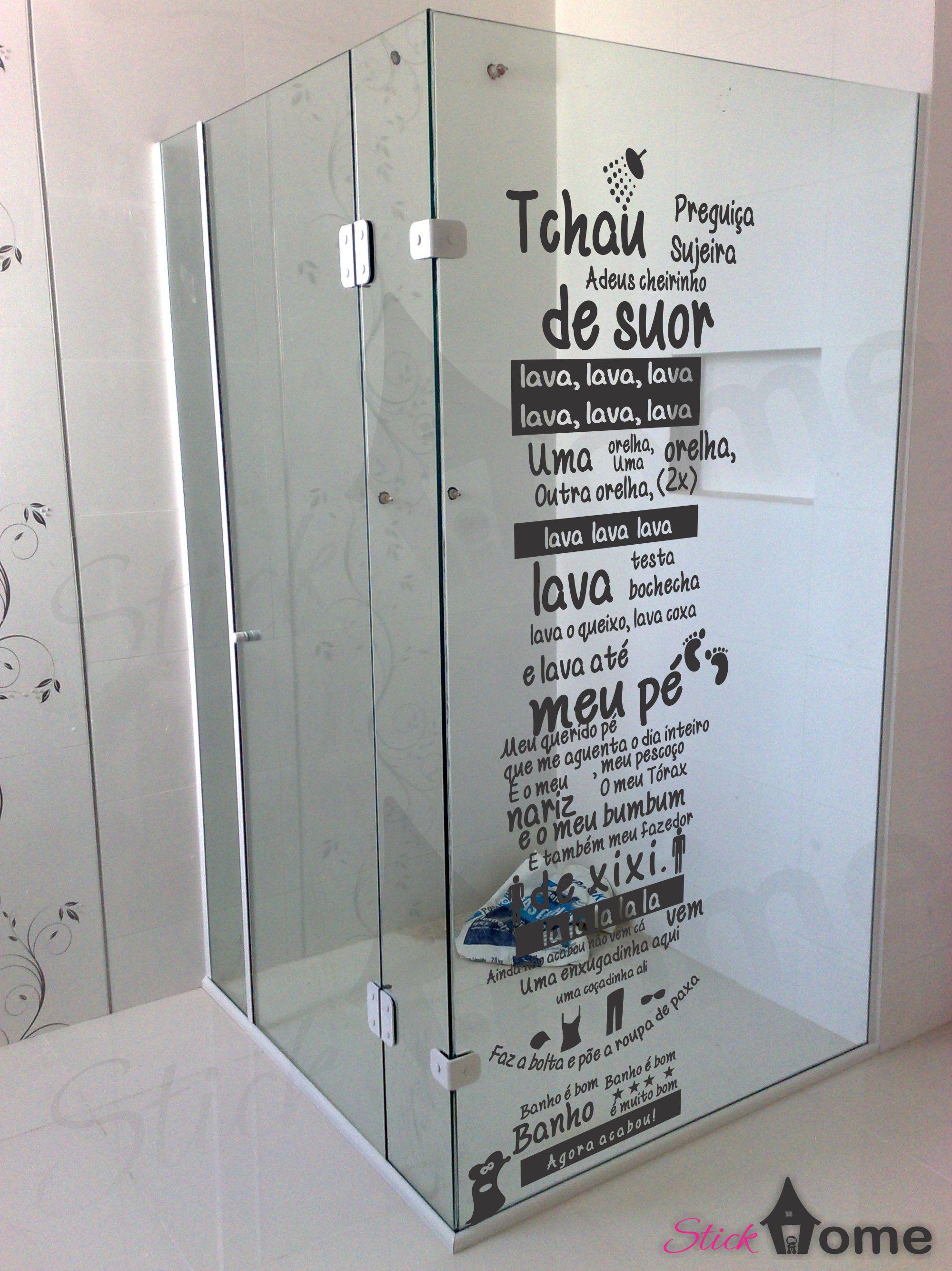 Imagens de #576574 box banheiro musica ratinho decoracao criativa adesivo de box banheiro  2000x2667 px 3110 Box Banheiro Adesivo