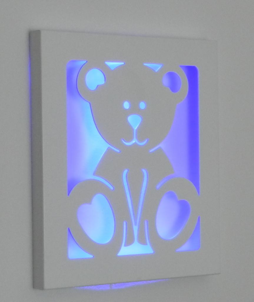 Quadro Para Quarto De Bebe Com Led ~ quadro com led urso ursinho quadro com led urso bebe