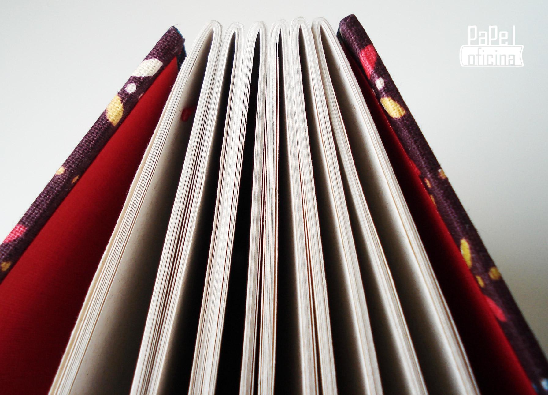 caderno folhinhas papel oficina elo7 On papel oficina