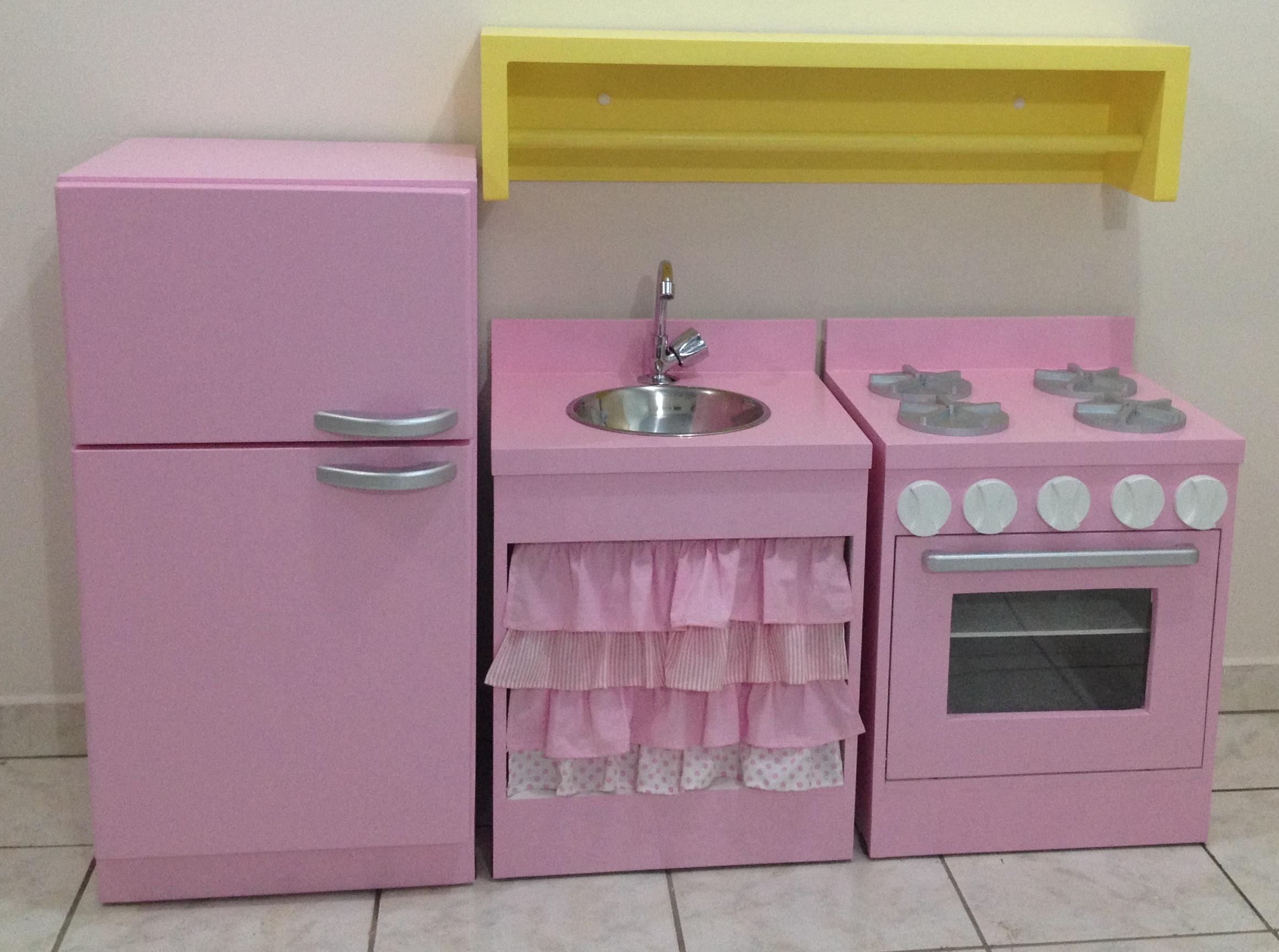 Cozinha Infantil Lyra G Ateliê Nelma Almeida Elo7 #9B842F 2320x1727