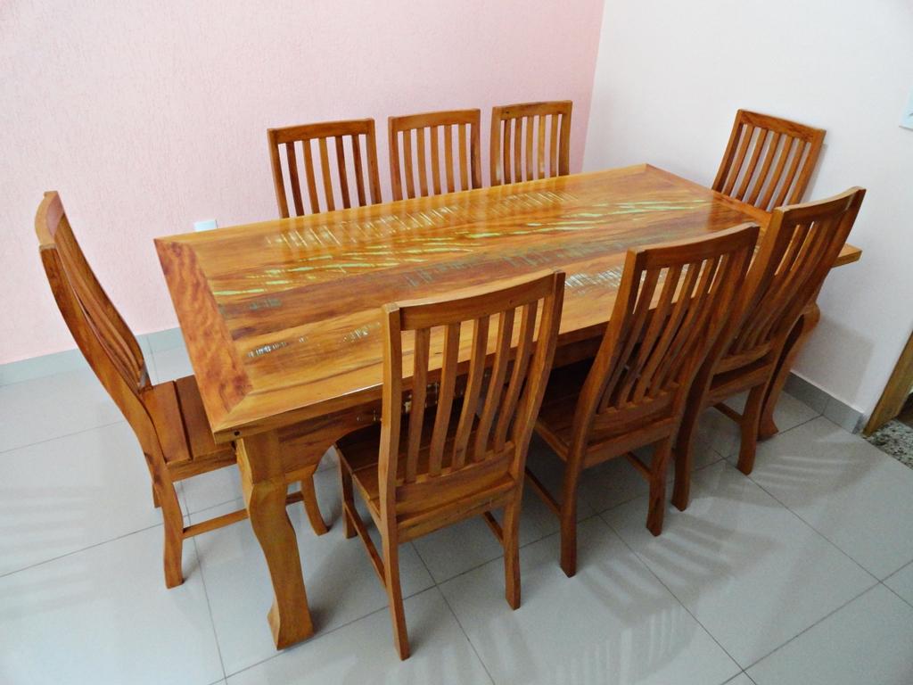 Jogo De Sala De Jantar Em Madeira ~ do jogo de mesa com cadeiras em madeira madeira de demolicao jogo de