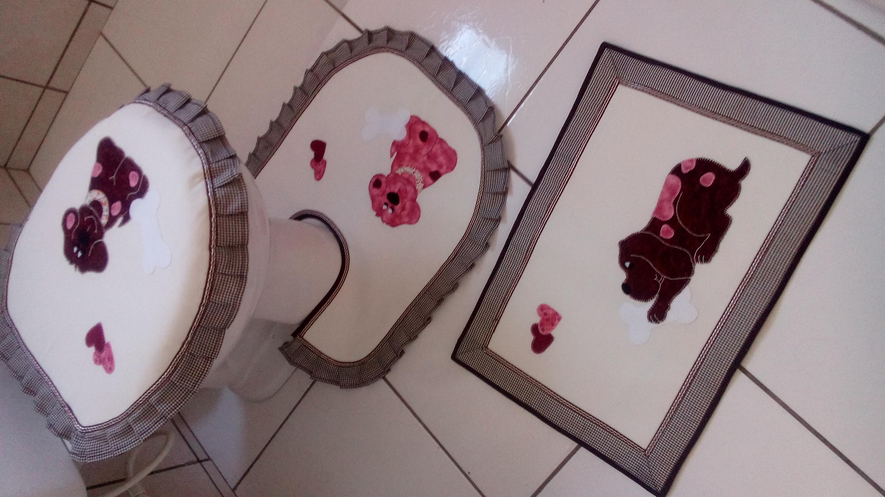 cachorrinhos banheiro jogo de tapetes cachorrinhos tapete de banheiro  #3B2227 3072x1728 Banheiro De Cachorro Funciona