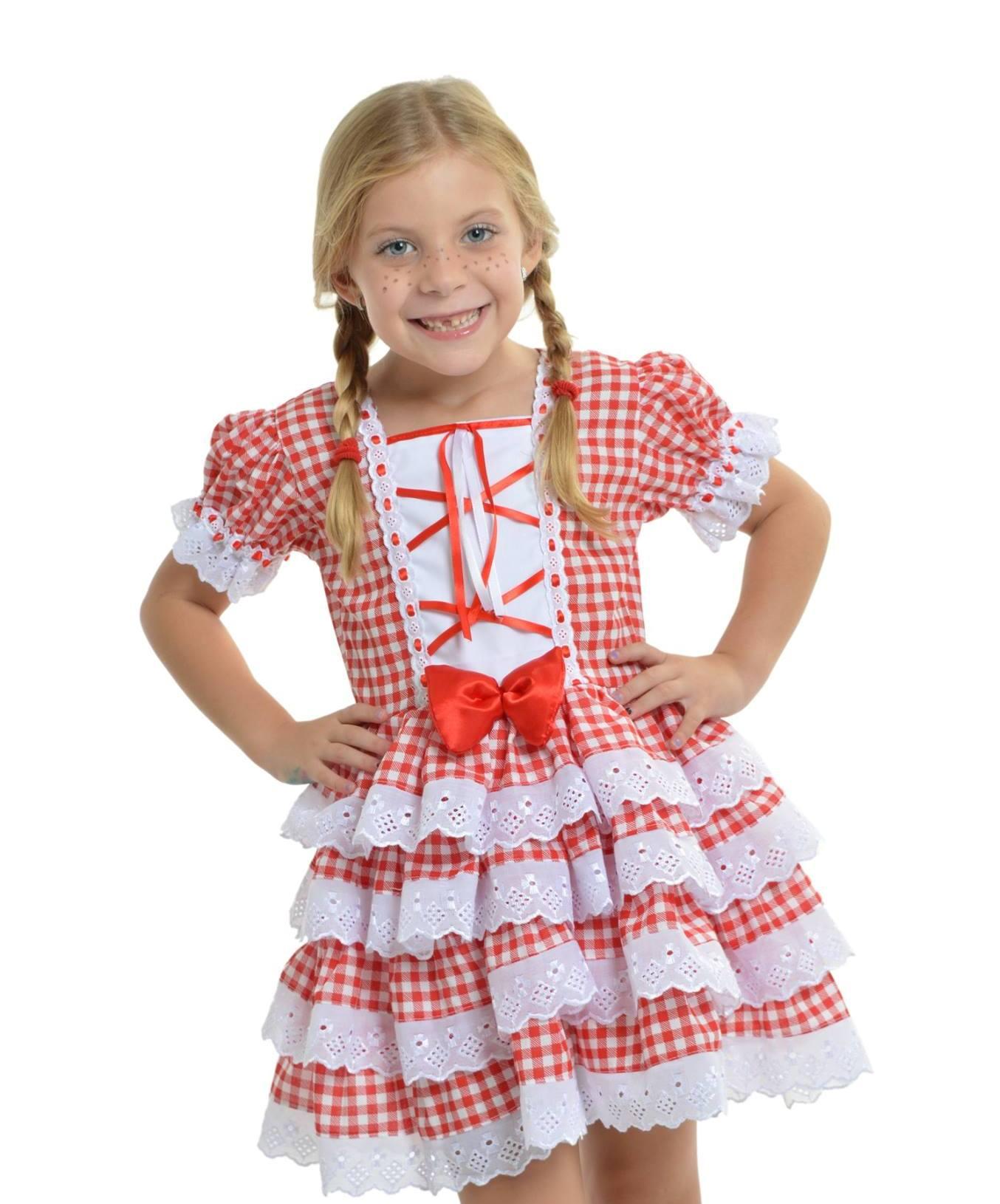 Armario Rinconera Conforama ~ Vestido Caipira Xadrez Vermelho MultiFantasias Elo7