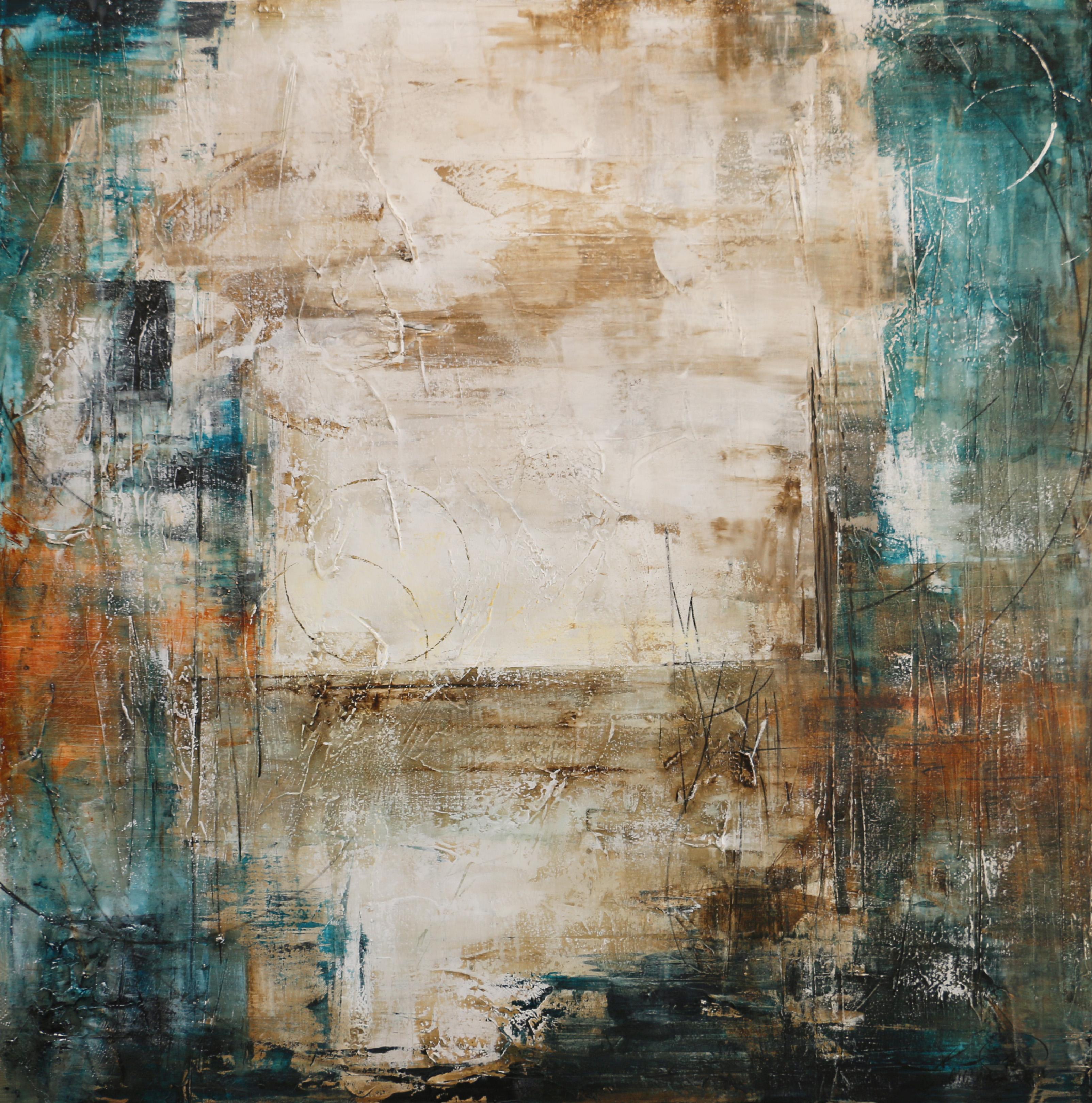 Sala De Estar Turquesa ~ turquesa orange  M Maia Art Studio  Elo7