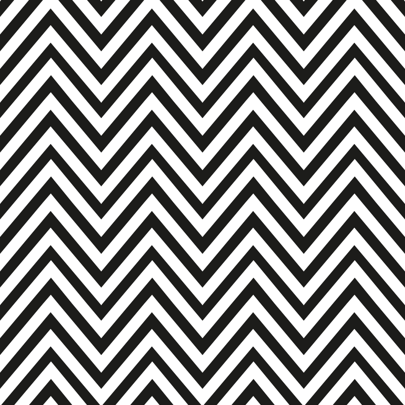 Papel de Parede ZigZag preto e branco  QCola  Elo7