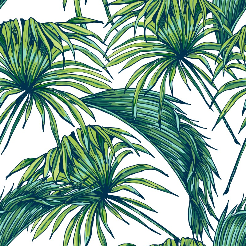 papel de parede tropical qcola elo7