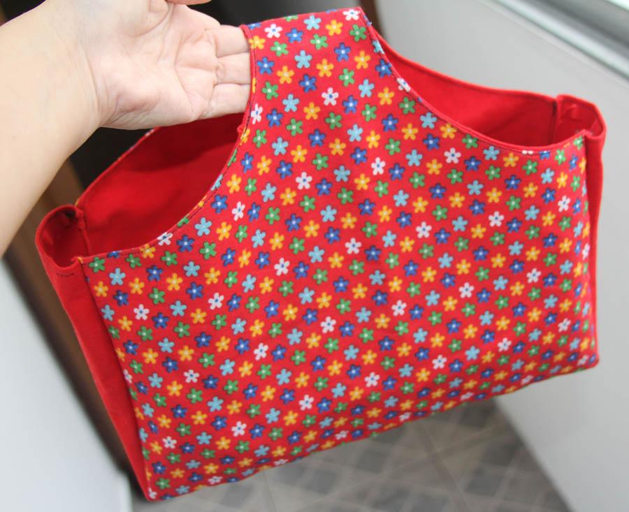 Bolsa De Tecido Forrada : Bolsa de m?o chita florida entrelinhas presentes