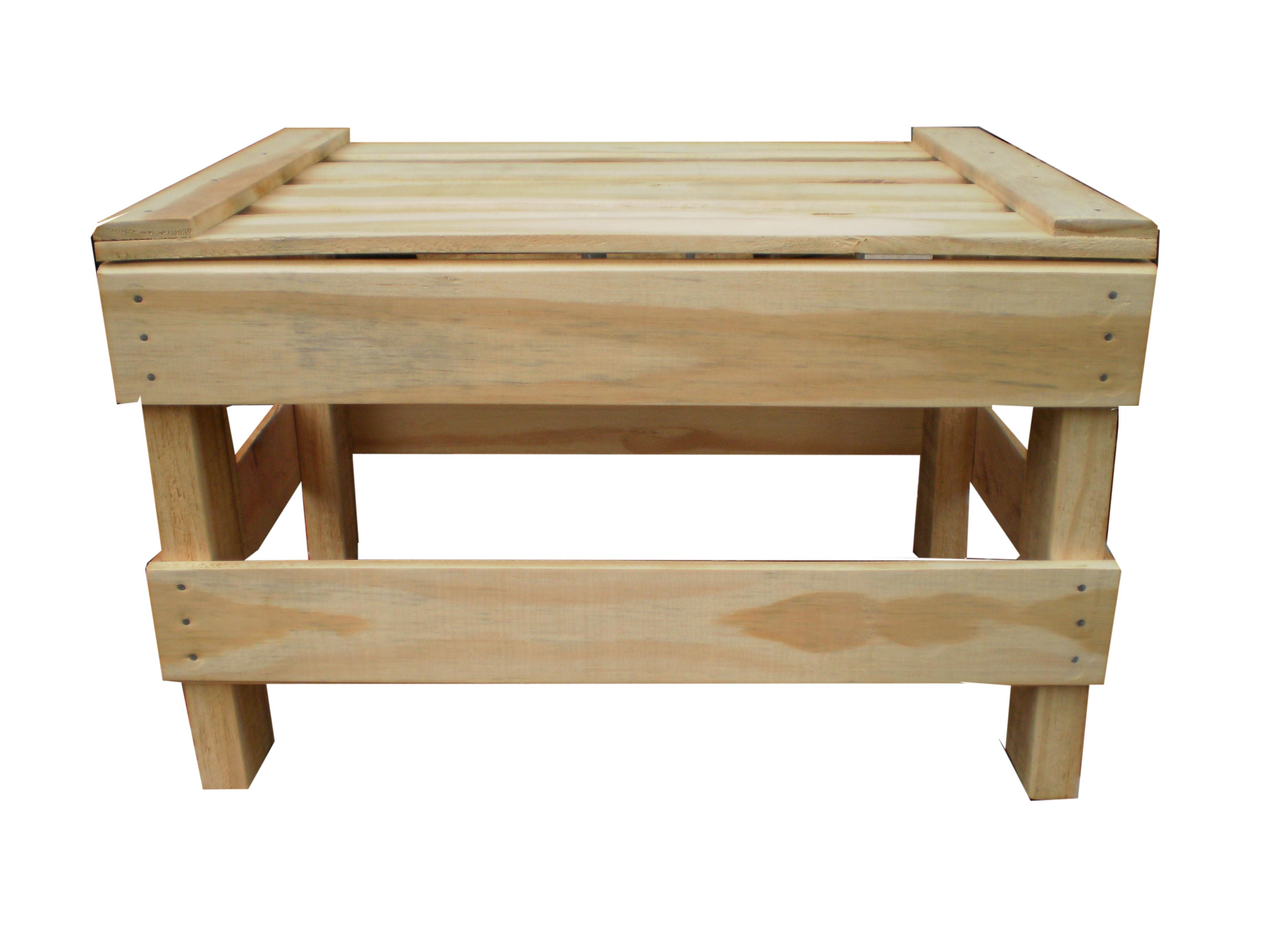 Banquinho Box Trigo Maskavo Eco Decor Elo7 #4A2D15 3672x2768