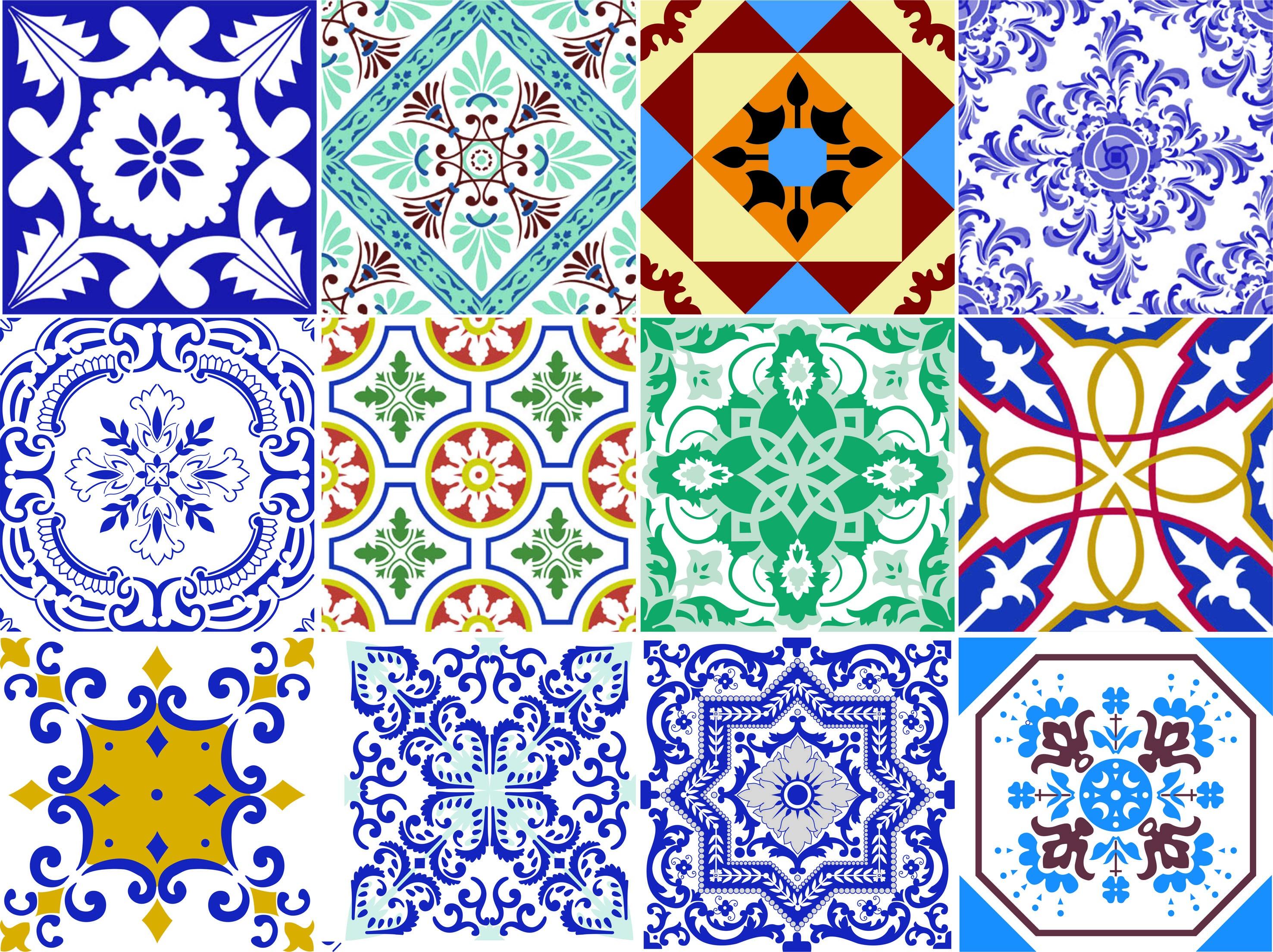 Adesivo vinilico azulejo portugues rca work comunica o - Azulejos de pared ...