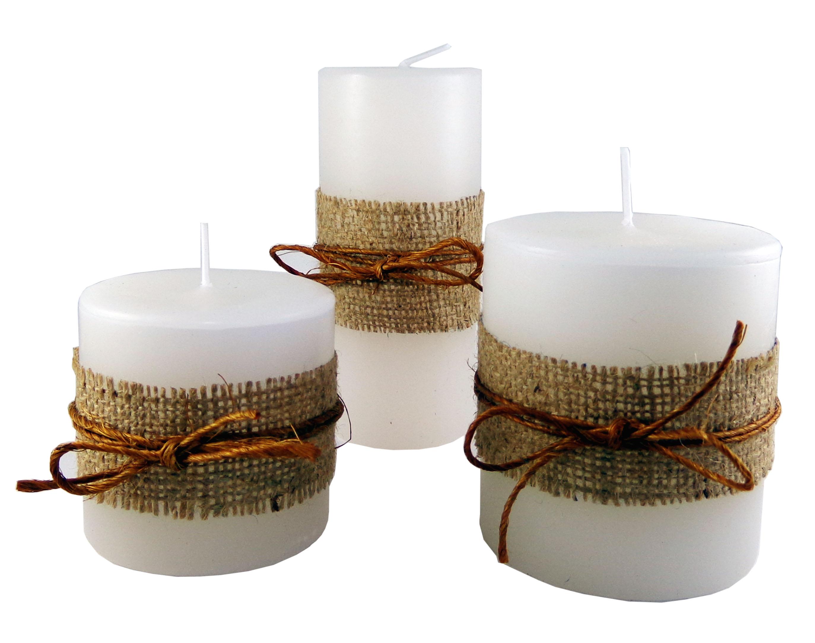 Trio de velas arom ticas brisa do campo elo7 - Aromas para velas ...