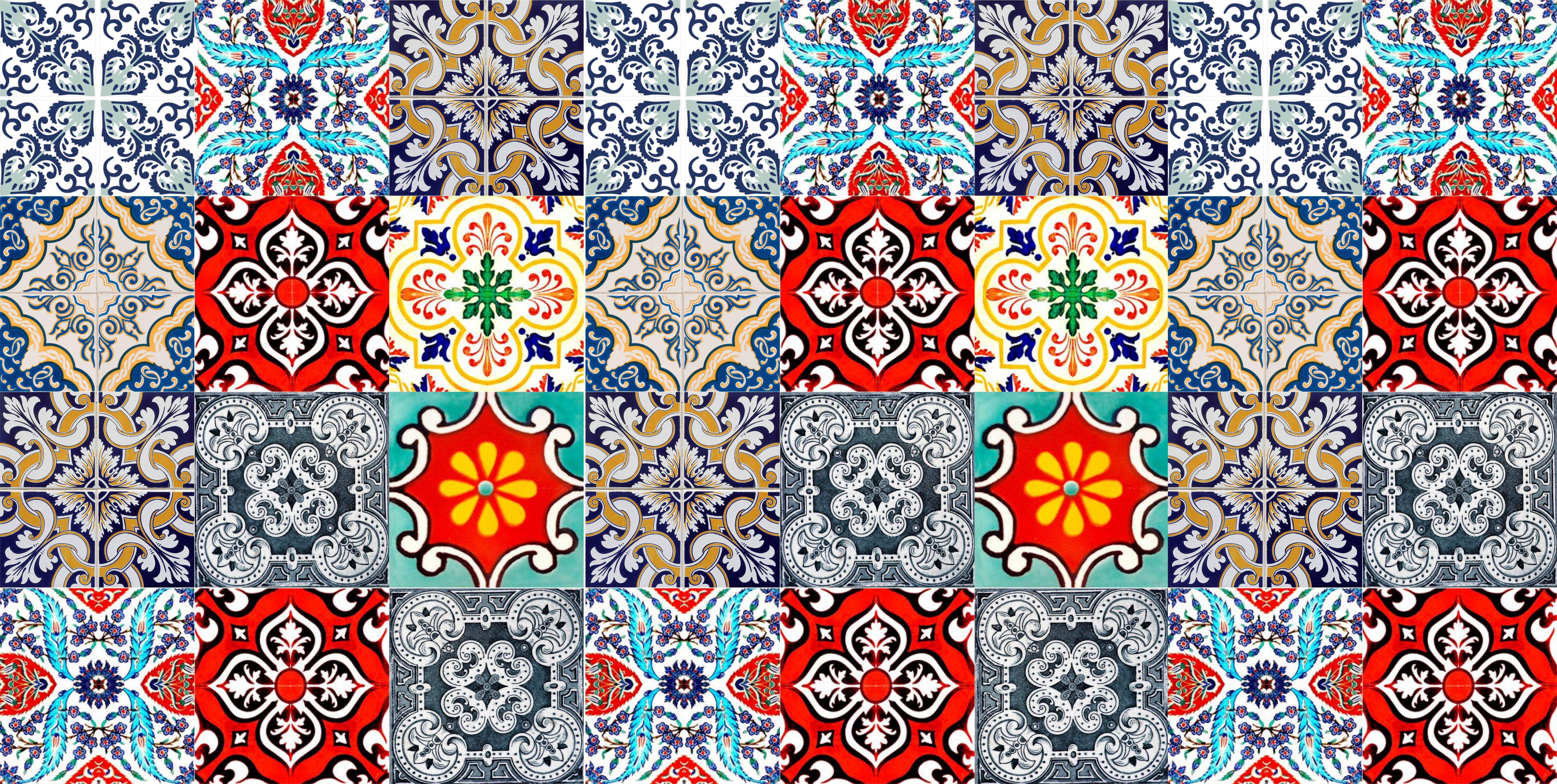 Adesivo de parede azulejos 35 wall magic adesivos elo7 - Papel para azulejos de bano ...