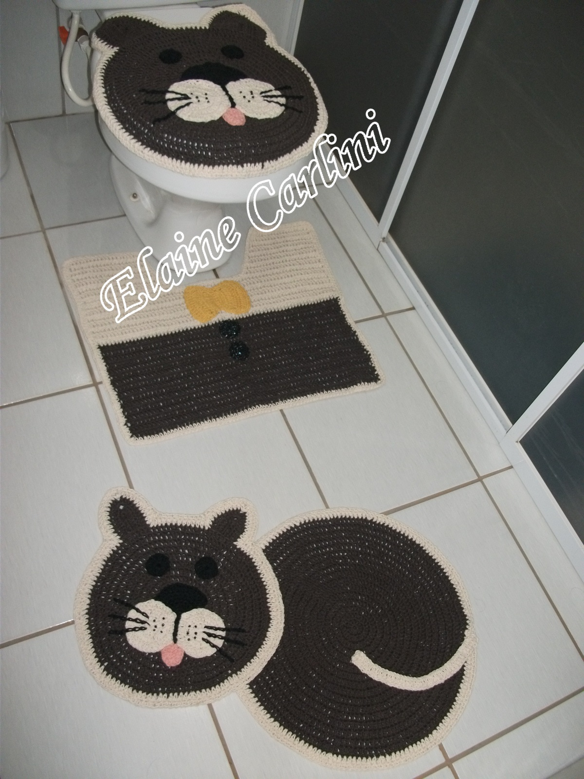 de banheiro gato decoracao banheiro infantil jogo de banheiro gato  #927039 1200 1600