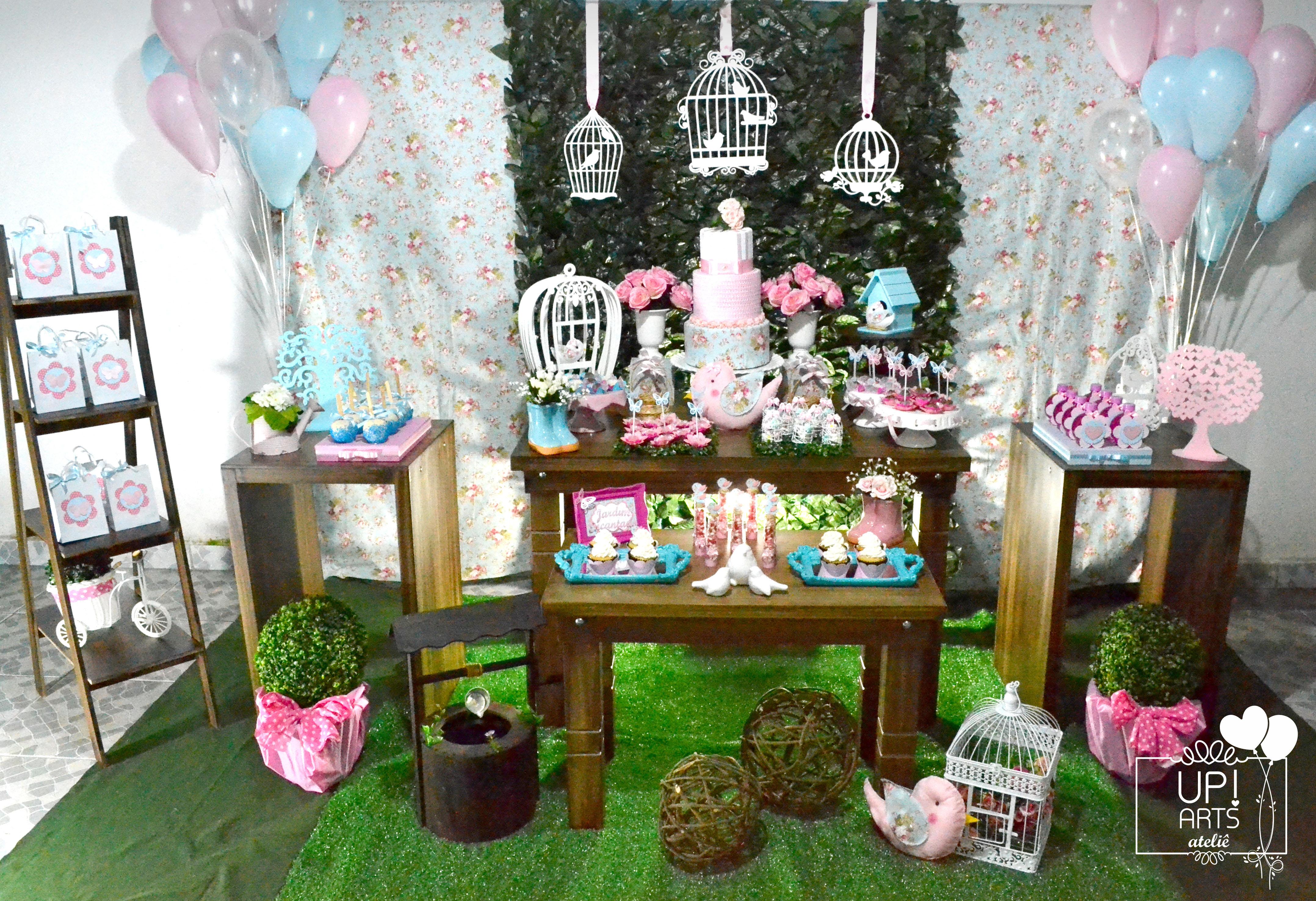 Decoracao Festa Infantil Jardim Encantado Provencal